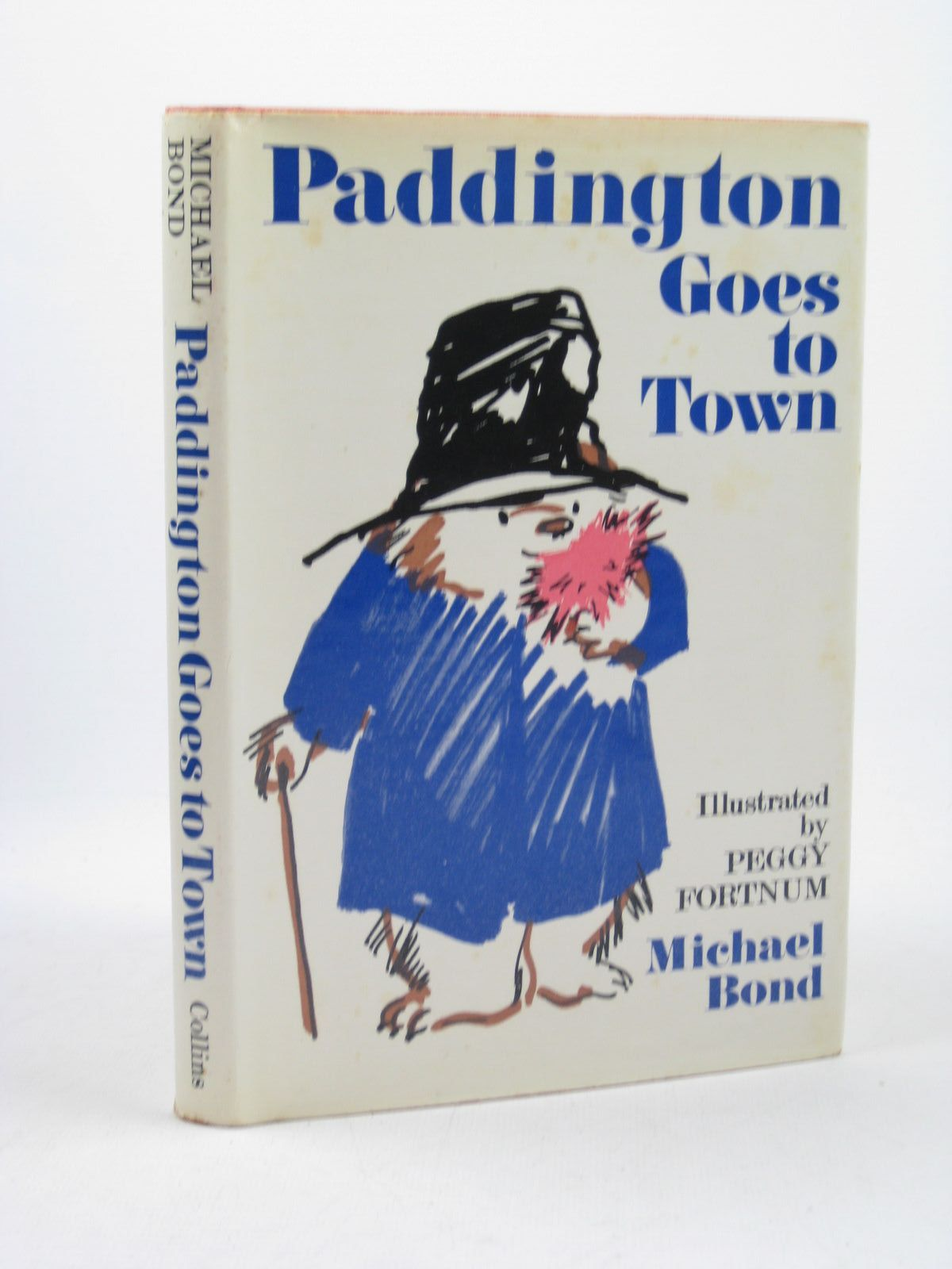 Photo of PADDINGTON GOES TO TOWN written by Bond, Michael illustrated by Fortnum, Peggy published by Collins (STOCK CODE: 1312596)  for sale by Stella & Rose's Books