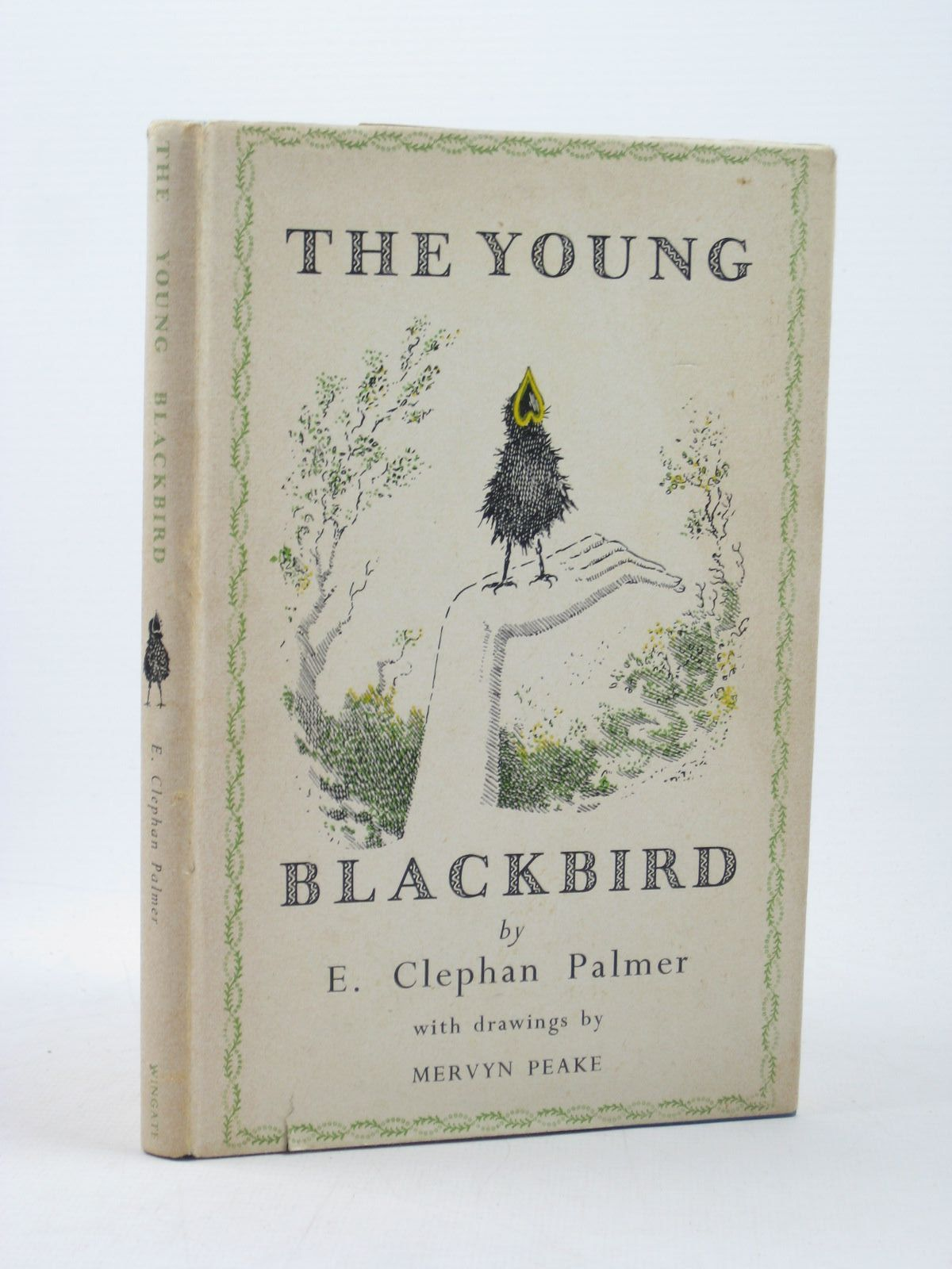 Photo of THE YOUNG BLACKBIRD written by Palmer, E. Clephan illustrated by Peake, Mervyn published by Allan Wingate (STOCK CODE: 1312603)  for sale by Stella & Rose's Books