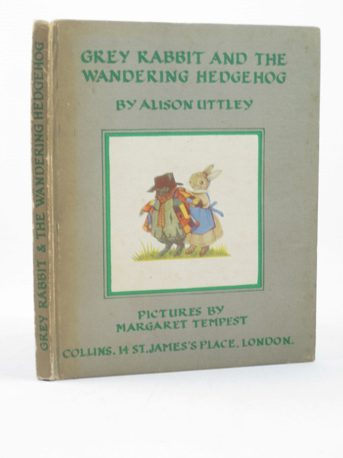 Photo of GREY RABBIT AND THE WANDERING HEDGEHOG written by Uttley, Alison illustrated by Tempest, Margaret published by Collins (STOCK CODE: 1312608)  for sale by Stella & Rose's Books