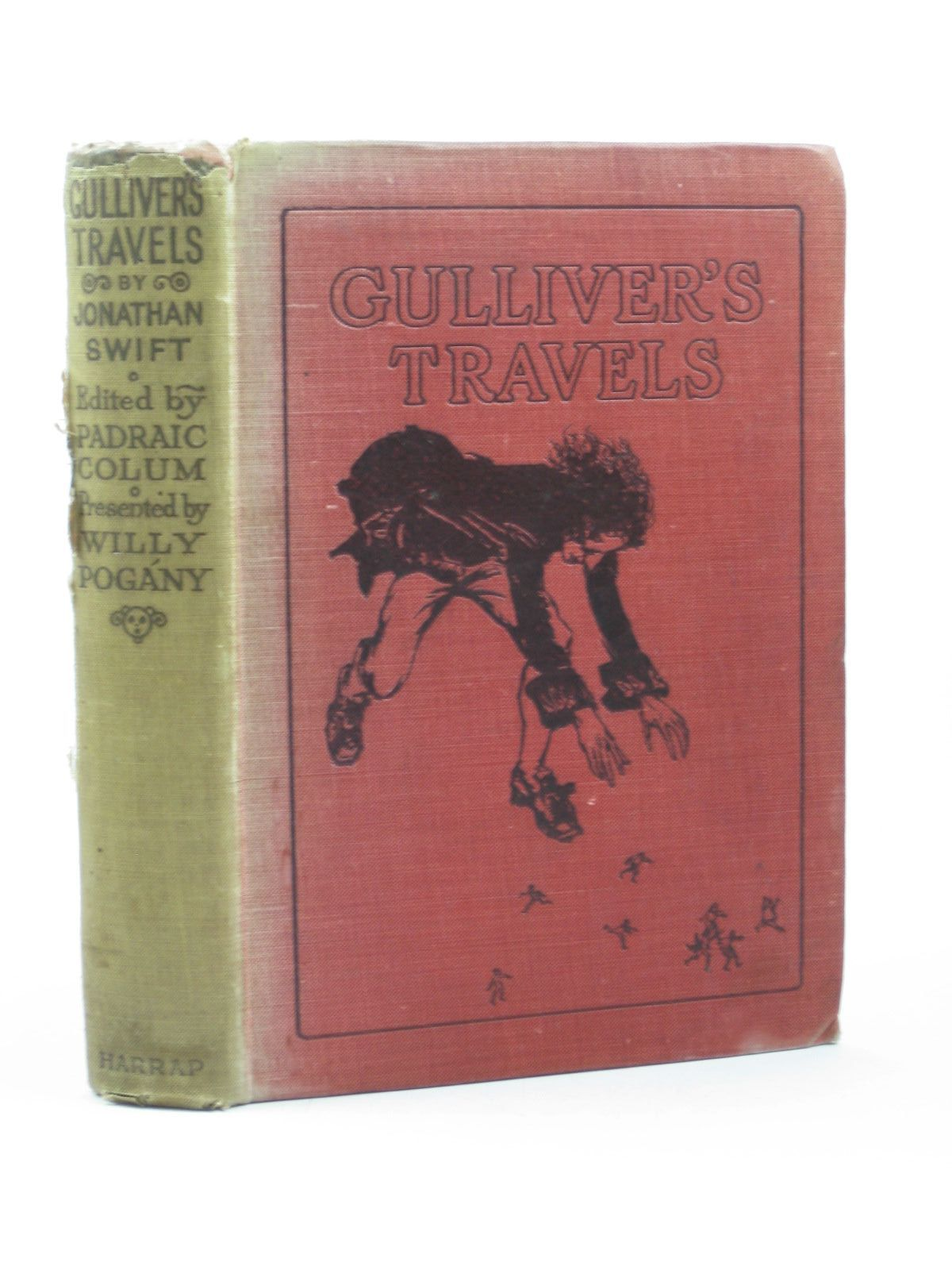 Photo of GULLIVER'S TRAVELS written by Swift, Jonathan<br />Colum, Padraic illustrated by Pogany, Willy published by George G. Harrap & Co. Ltd. (STOCK CODE: 1312623)  for sale by Stella & Rose's Books