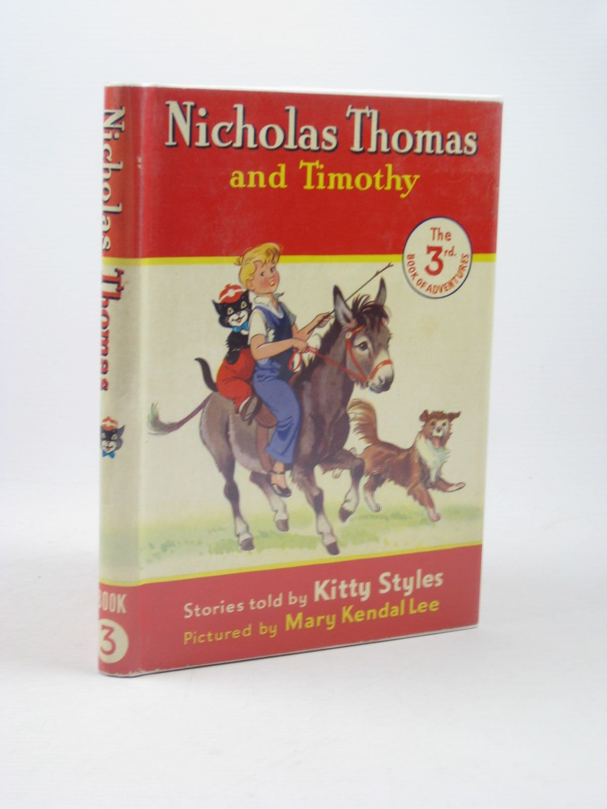 Photo of NICHOLAS THOMAS AND TIMOTHY No. 3 written by Styles, Kitty illustrated by Lee, Mary Kendal published by Sampson Low, Marston & Co. Ltd. (STOCK CODE: 1312629)  for sale by Stella & Rose's Books