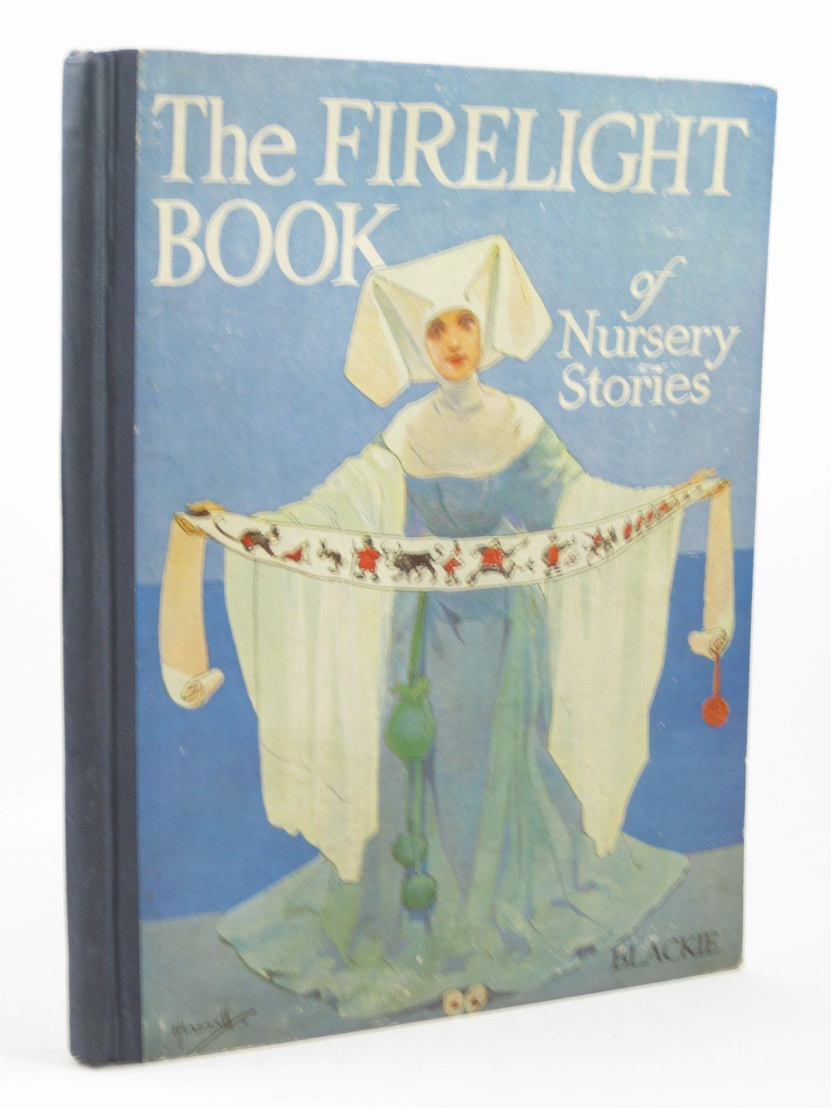 Photo of THE FIRELIGHT BOOK OF NURSERY STORIES illustrated by Hassall, John published by Blackie & Son Ltd. (STOCK CODE: 1312639)  for sale by Stella & Rose's Books