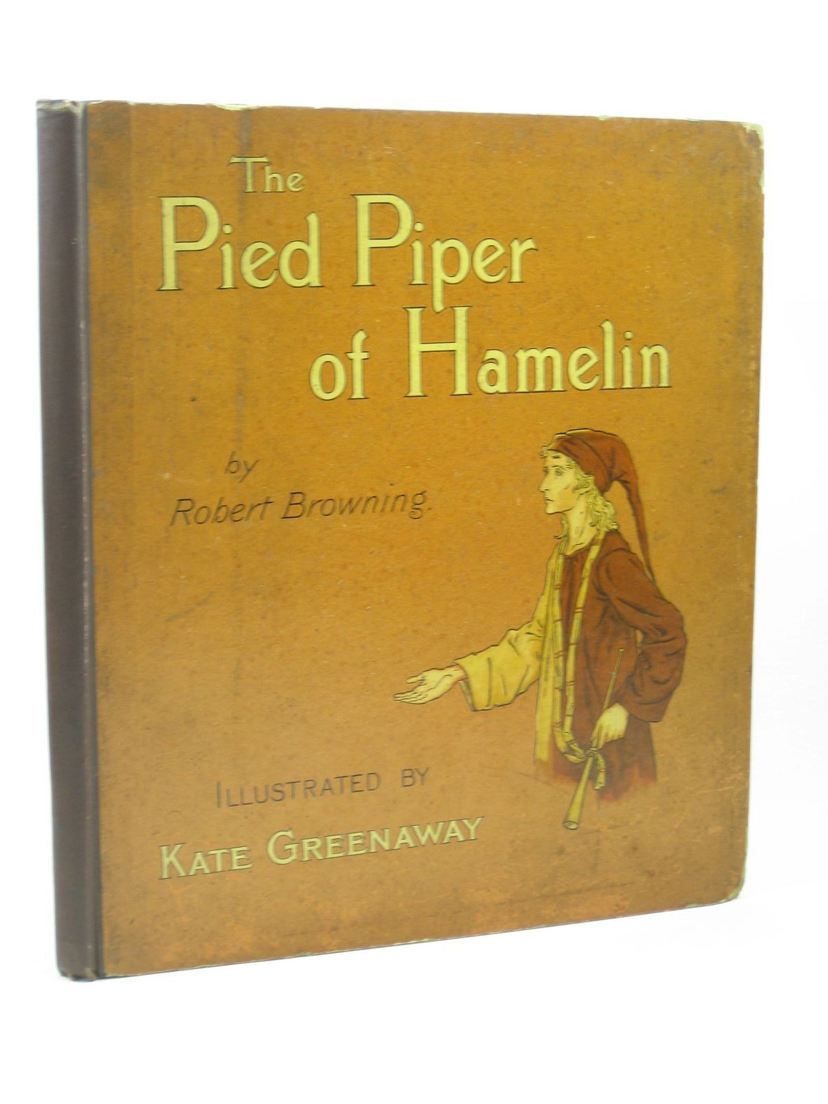 Photo of THE PIED PIPER OF HAMELIN written by Browning, Robert illustrated by Greenaway, Kate published by George Routledge & Sons (STOCK CODE: 1312646)  for sale by Stella & Rose's Books