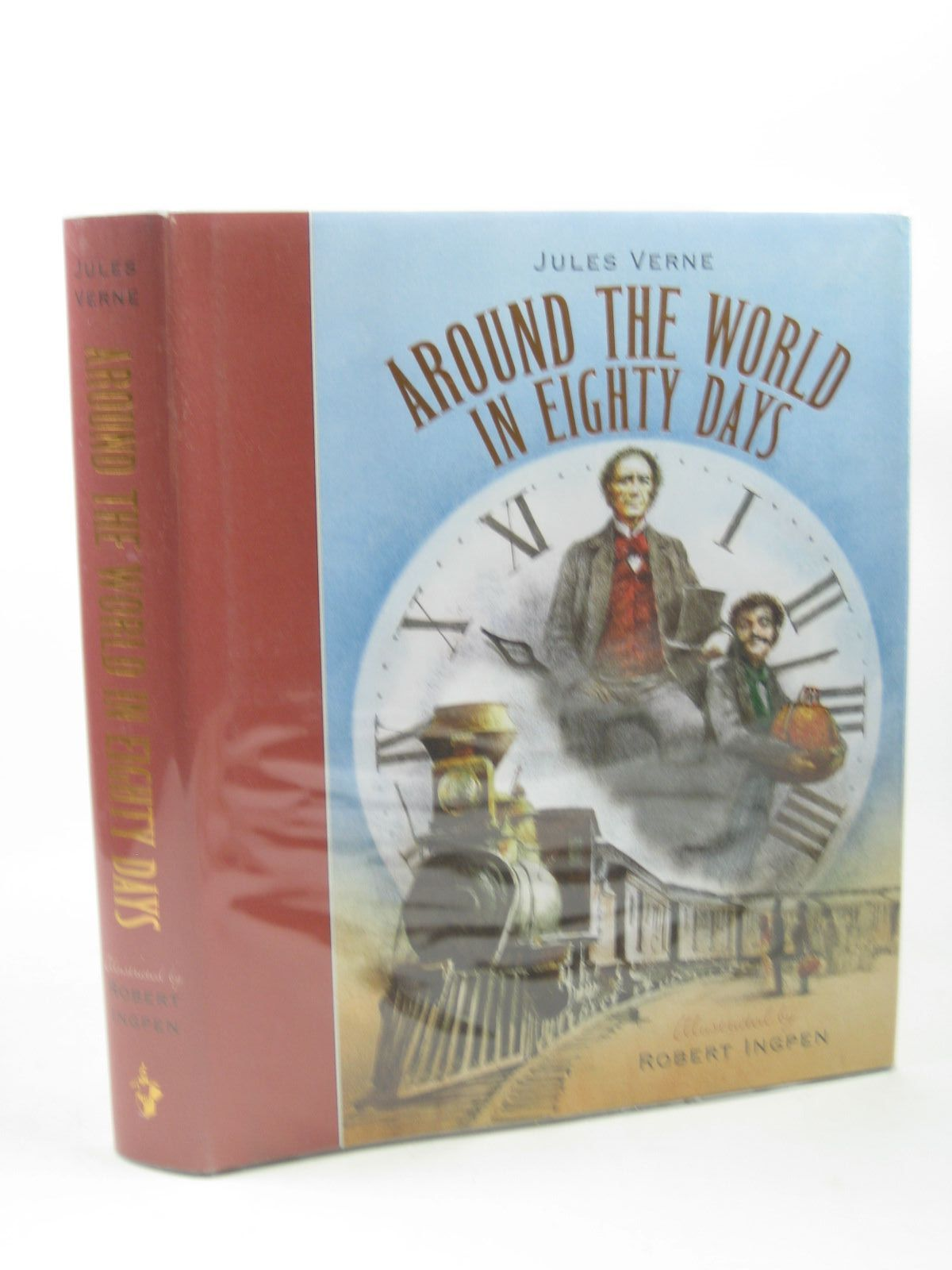 Photo of AROUND THE WORLD IN EIGHTY DAYS written by Verne, Jules illustrated by Ingpen, Robert published by Templar Publishing (STOCK CODE: 1312659)  for sale by Stella & Rose's Books