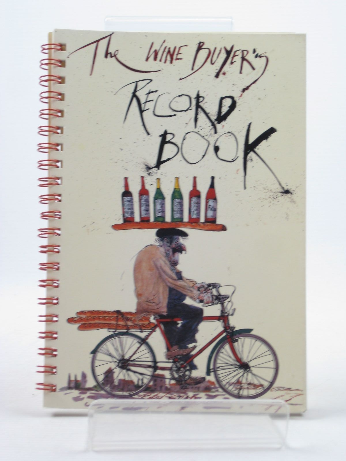 Photo of THE WINE BUYER'S RECORD BOOK illustrated by Steadman, Ralphn published by Ebury Press (STOCK CODE: 1312660)  for sale by Stella & Rose's Books