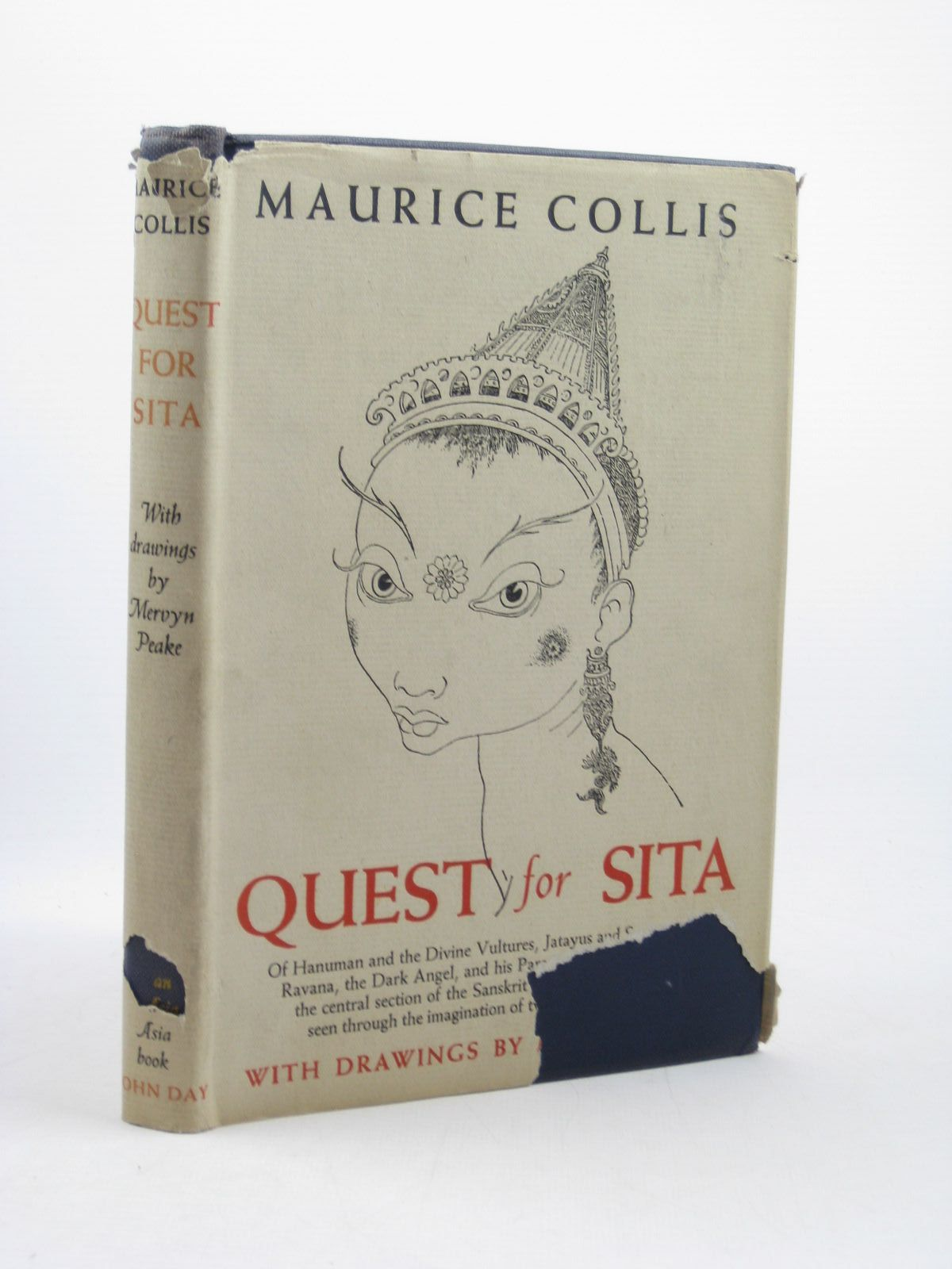 Photo of QUEST FOR SITA written by Collis, Maurice illustrated by Peake, Mervyn published by John Day (STOCK CODE: 1312662)  for sale by Stella & Rose's Books