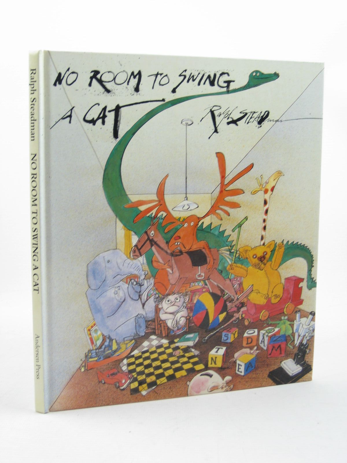 Photo of NO ROOM TO SWING A CAT written by Steadman, Ralph illustrated by Steadman, Ralph published by Andersen Press Ltd. (STOCK CODE: 1312693)  for sale by Stella & Rose's Books