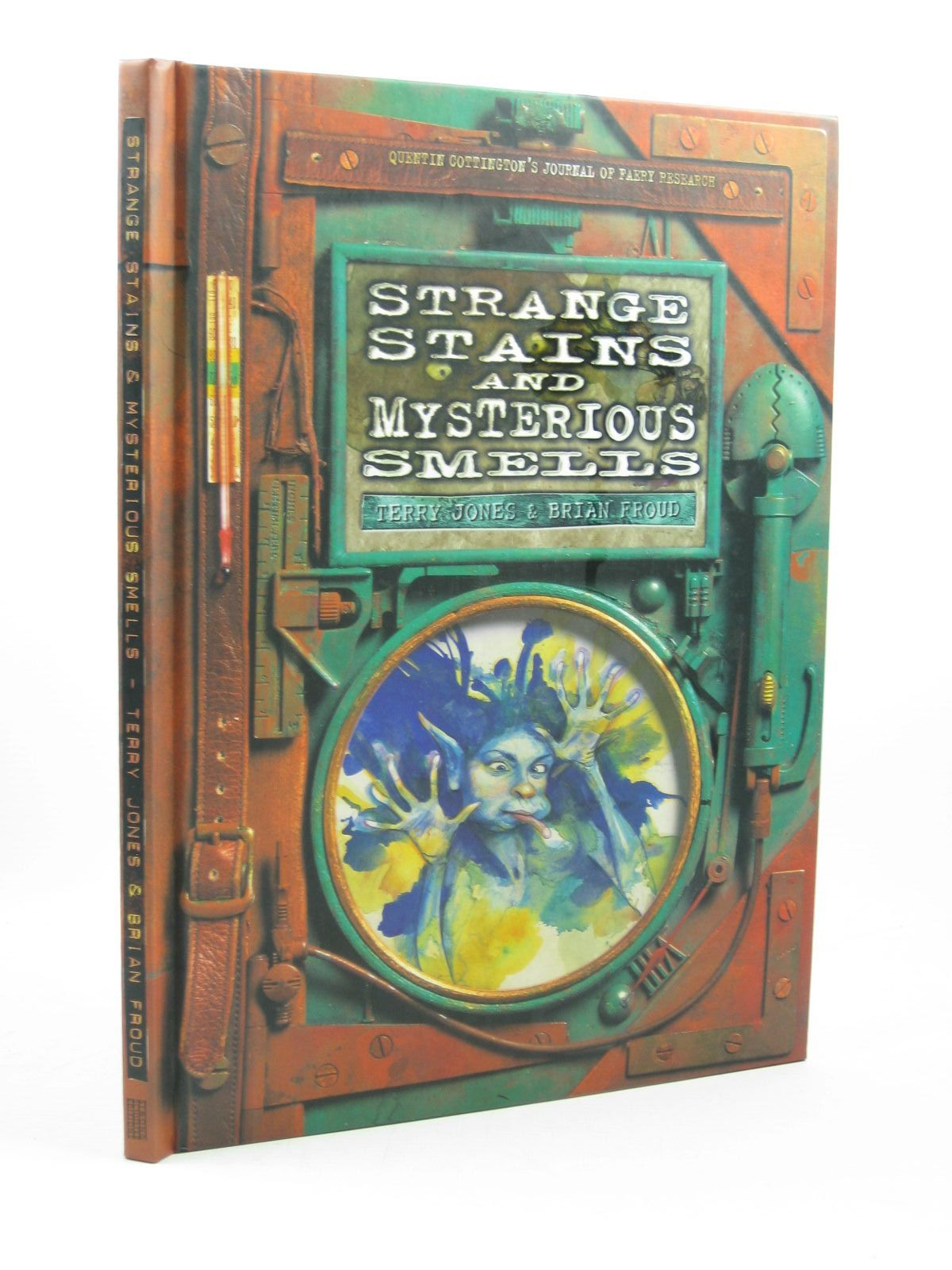 Photo of STRANGE STAINS AND MYSTERIOUS SMELLS written by Jones, Terry illustrated by Froud, Brian published by Simon & Schuster Editions (STOCK CODE: 1312696)  for sale by Stella & Rose's Books
