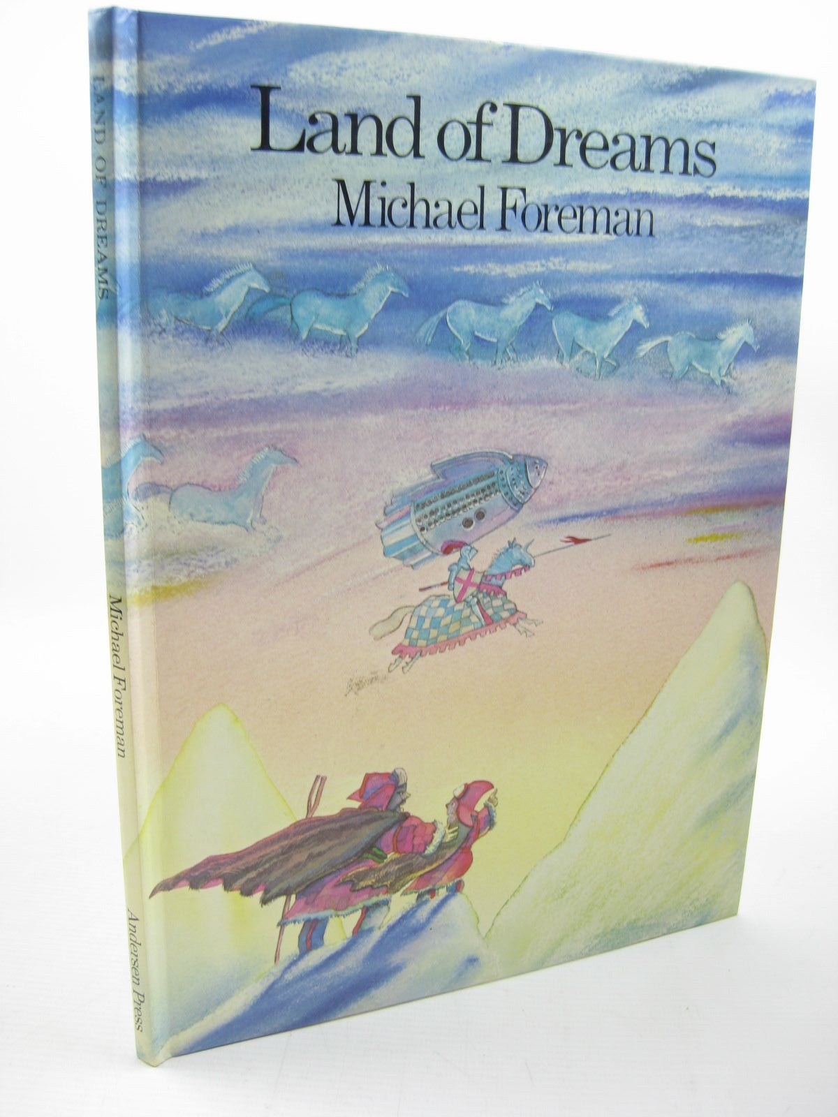 Photo of LAND OF DREAMS written by Foreman, Michael illustrated by Foreman, Michael published by Andersen Press Ltd. (STOCK CODE: 1312749)  for sale by Stella & Rose's Books