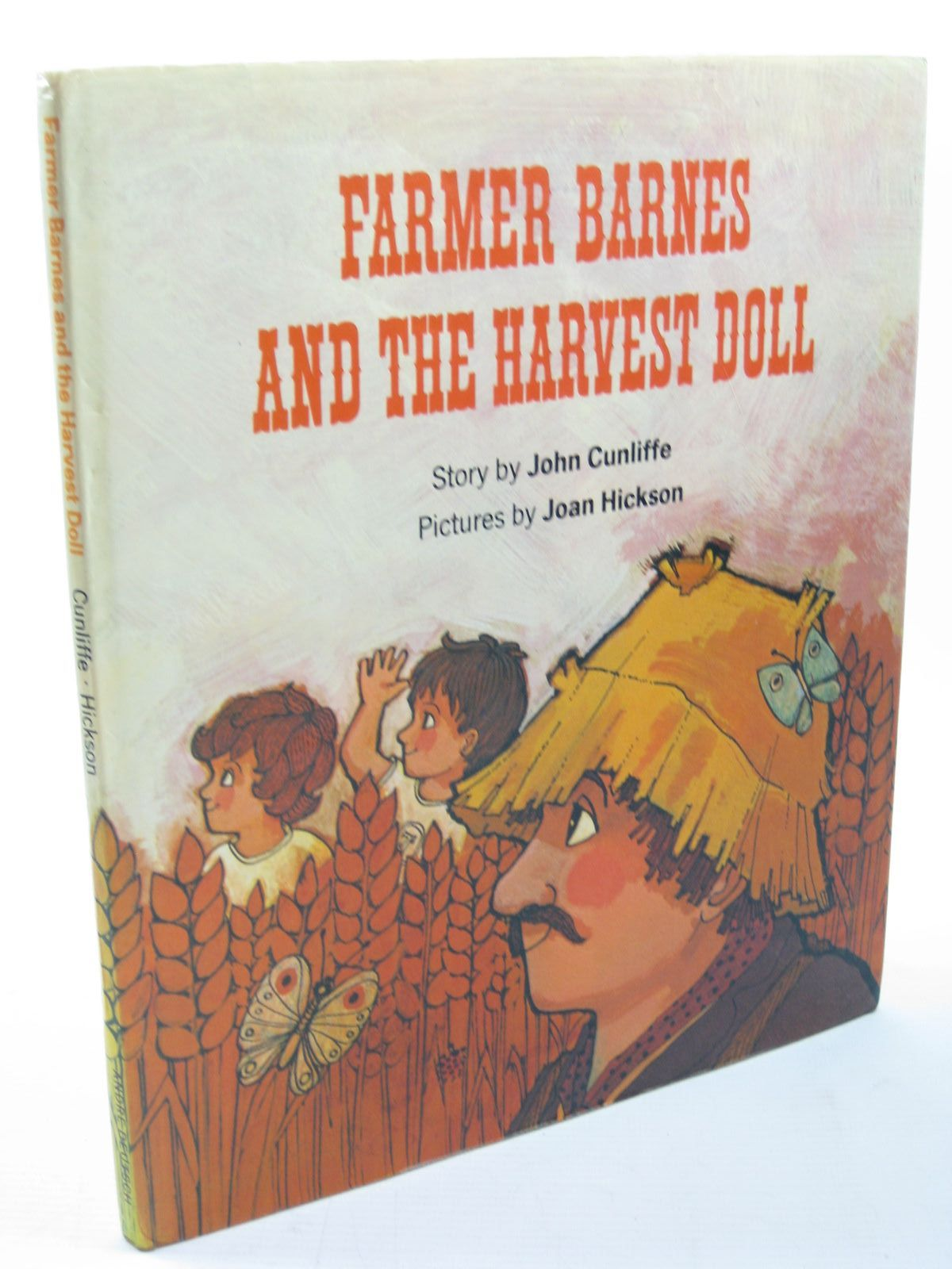 Photo of FARMER BARNES AND THE HARVEST DOLL written by Cunliffe, John illustrated by Hickson, Joan published by Andre Deutsch (STOCK CODE: 1312795)  for sale by Stella & Rose's Books