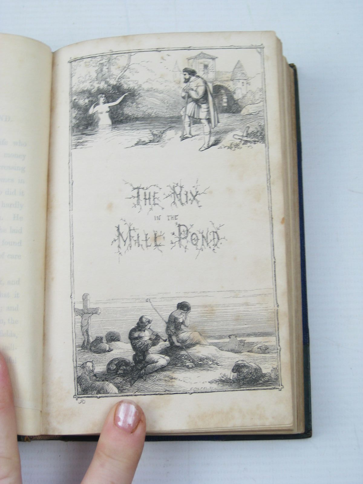 Photo of THE FAIRY RING written by Grimm, Brothers<br />Taylor, John Edward illustrated by Doyle, Richard published by John Murray (STOCK CODE: 1312924)  for sale by Stella & Rose's Books