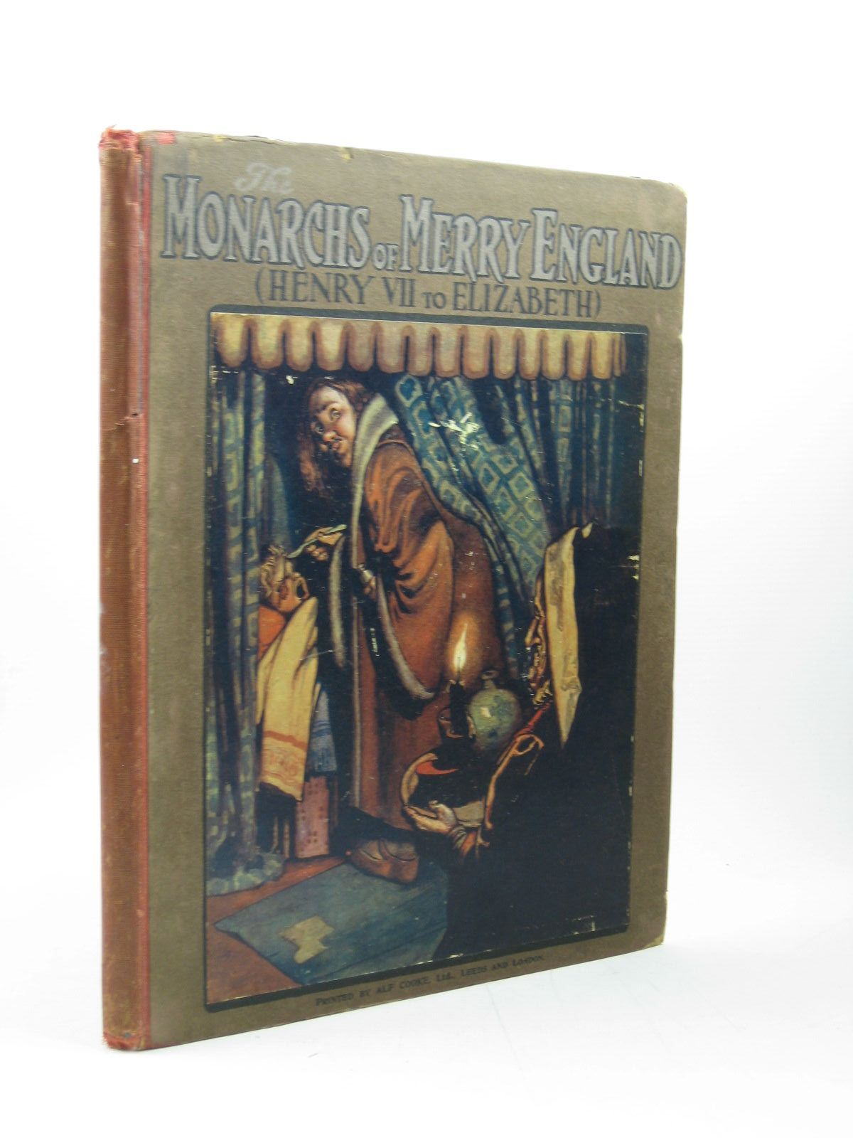 Photo of THE MONARCHS OF MERRY ENGLAND (HENRY VII TO ELIZABETH) written by Carse, Roland illustrated by Robinson, W. Heath published by T. Fisher Unwin (STOCK CODE: 1312999)  for sale by Stella & Rose's Books