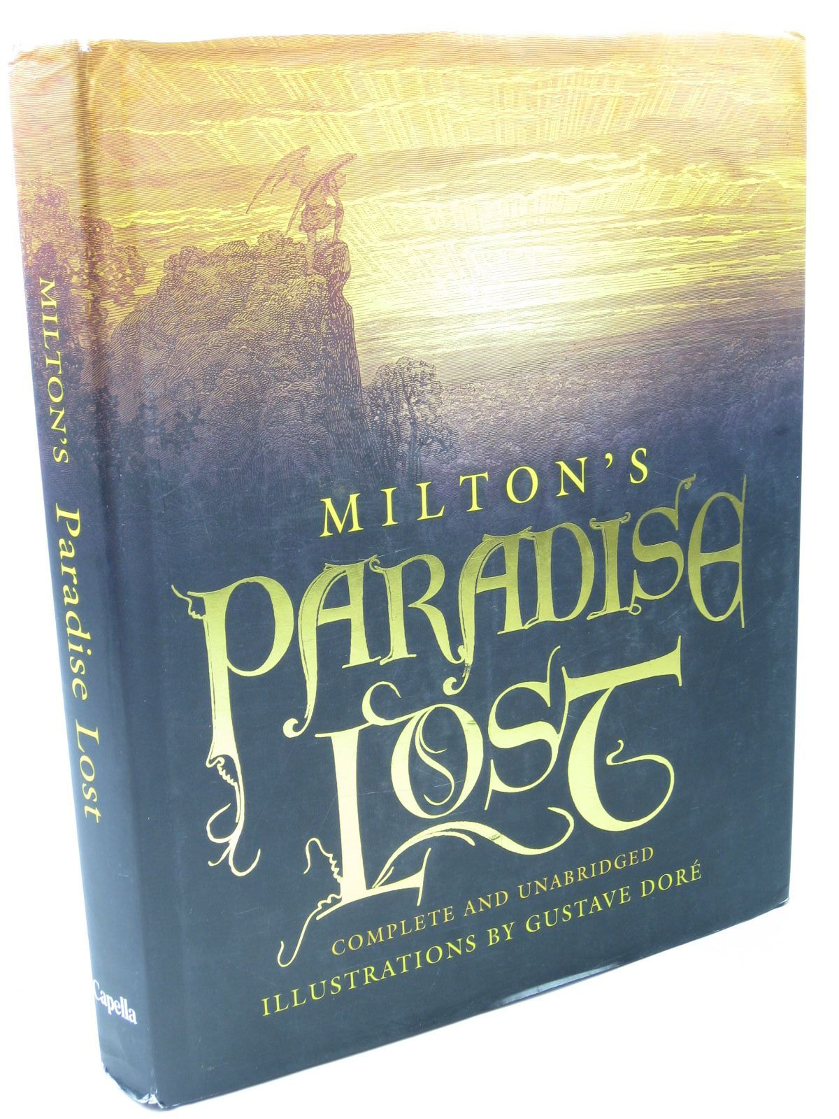 Photo of MILTON'S PARADISE LOST written by Milton, John illustrated by Dore, Gustave published by Capella (STOCK CODE: 1313040)  for sale by Stella & Rose's Books