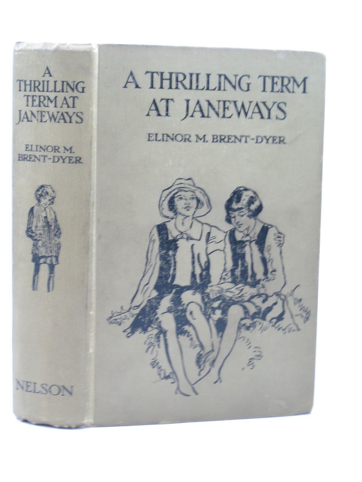 Photo of A THRILLING TERM AT JANEWAYS written by Brent-Dyer, Elinor M. illustrated by Anderson, Florence Mary published by Thomas Nelson and Sons Ltd. (STOCK CODE: 1313041)  for sale by Stella & Rose's Books
