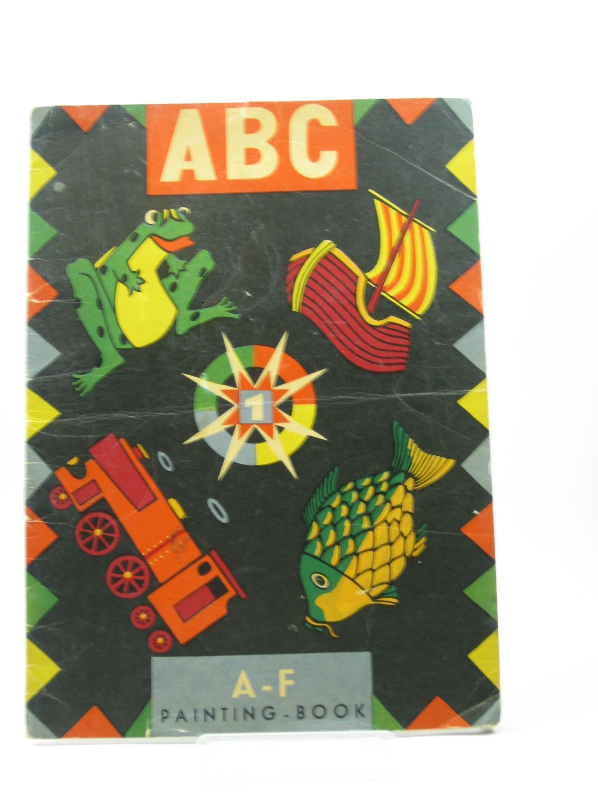 Photo of ABC A-F PAINTING BOOK