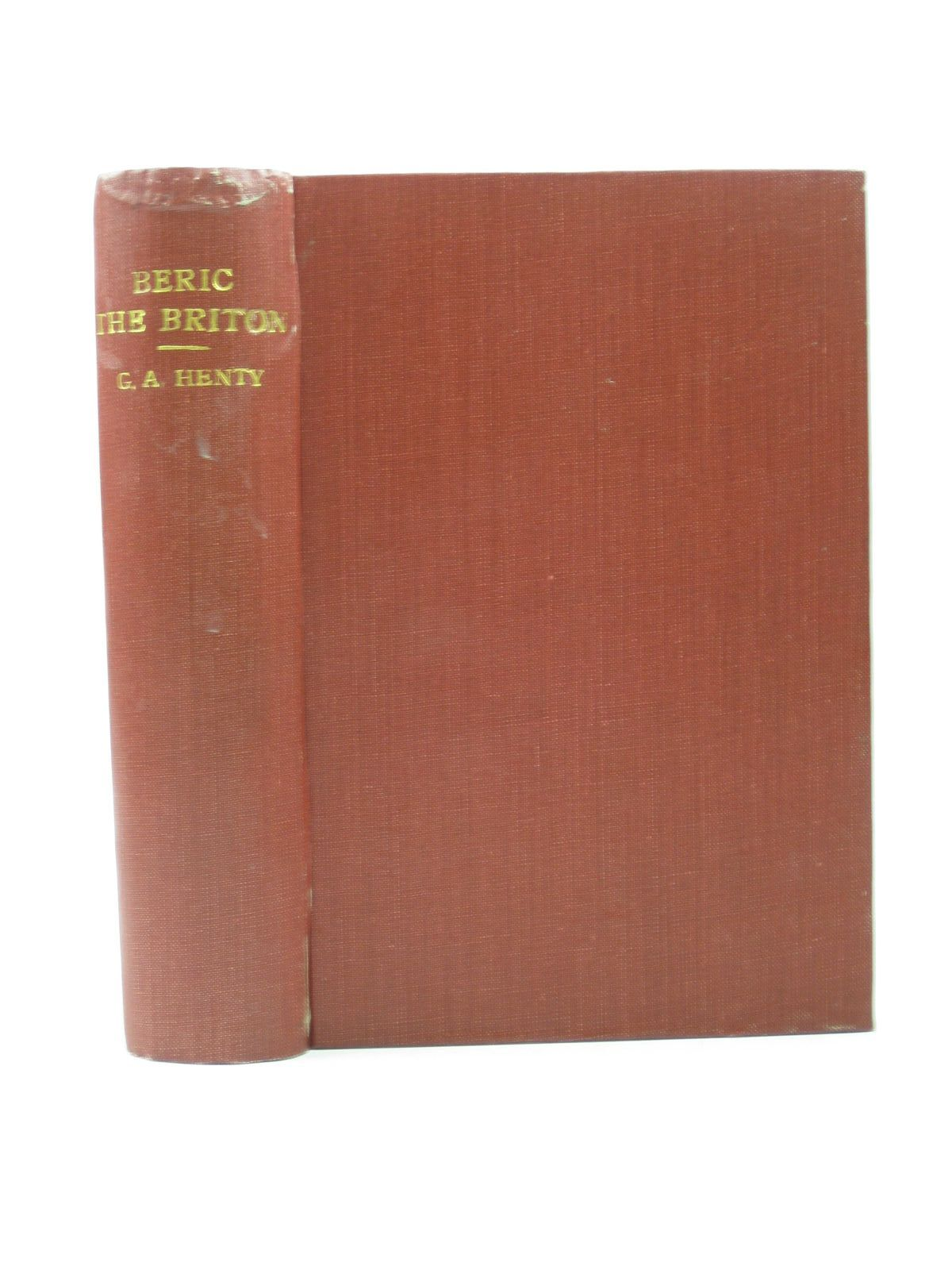 Photo of BERIC THE BRITON written by Henty, G.A. illustrated by Parkinson, W. published by Blackie & Son Ltd. (STOCK CODE: 1313143)  for sale by Stella & Rose's Books