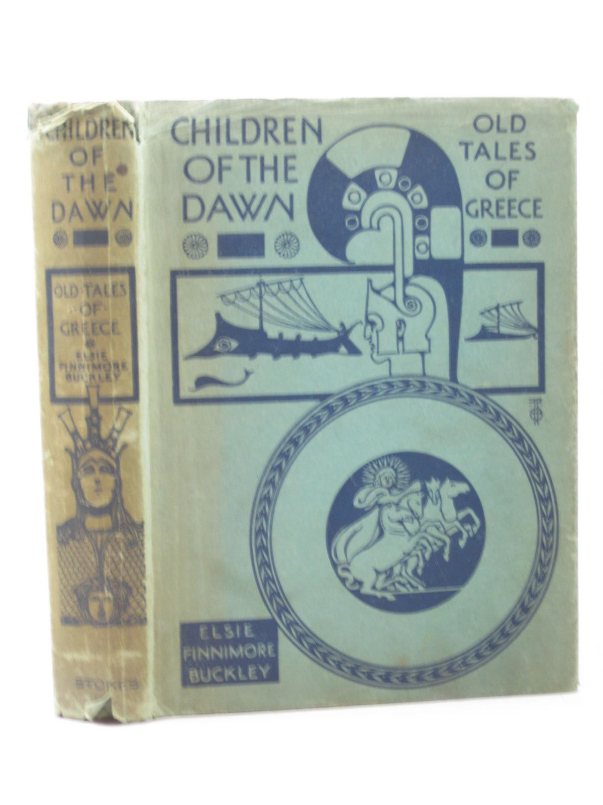 Photo of CHILDREN OF THE DAWN written by Buckley, Elsie Finnimore<br />Sidgwick, Arthur illustrated by Pape, Frank C. published by Frederick A. Stokes Company (STOCK CODE: 1313205)  for sale by Stella & Rose's Books