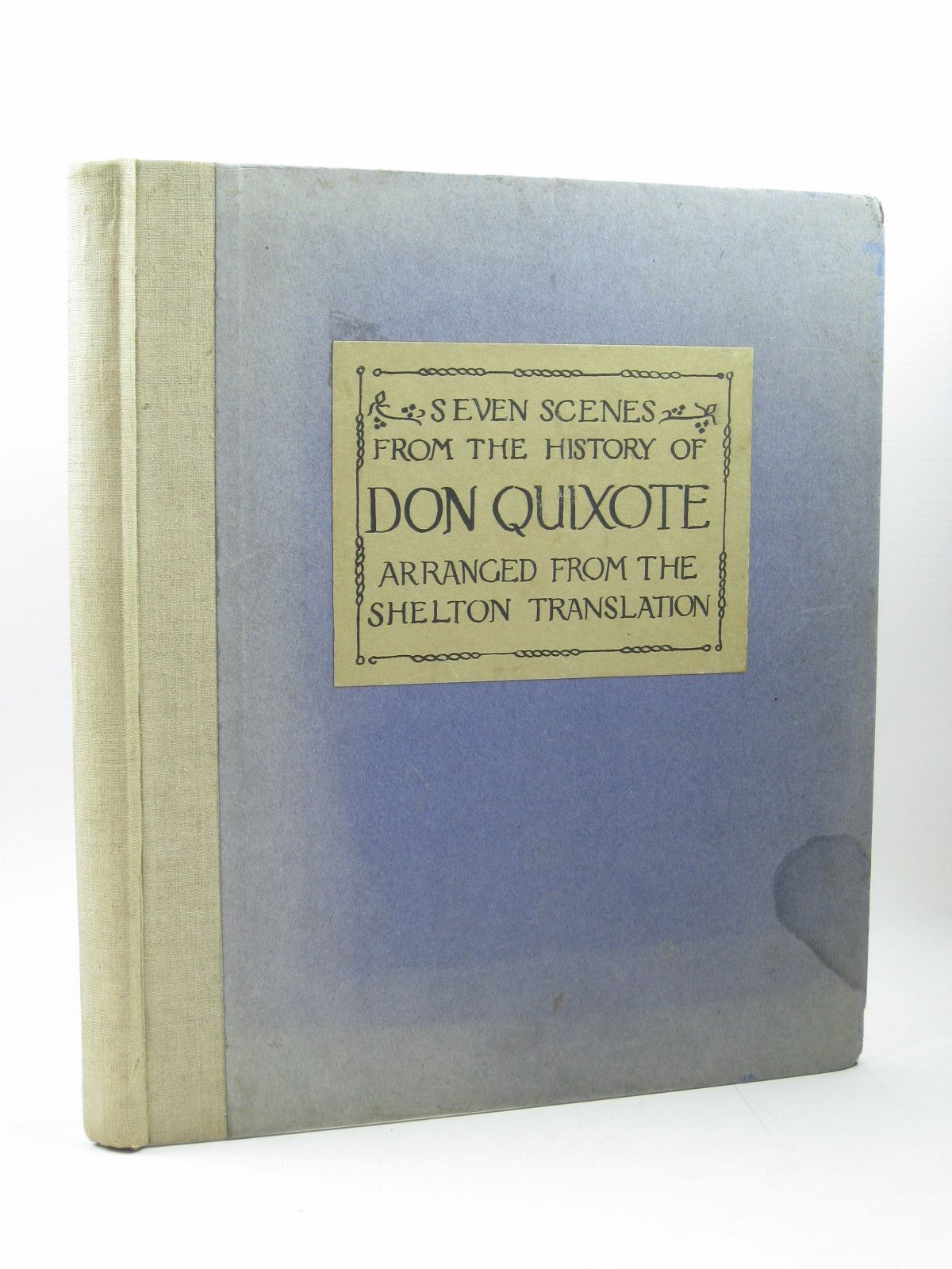 Photo of SCENES FROM THE HISTORY OF DON QUIXOTE published by The Hall School, Weybridge (STOCK CODE: 1313220)  for sale by Stella & Rose's Books