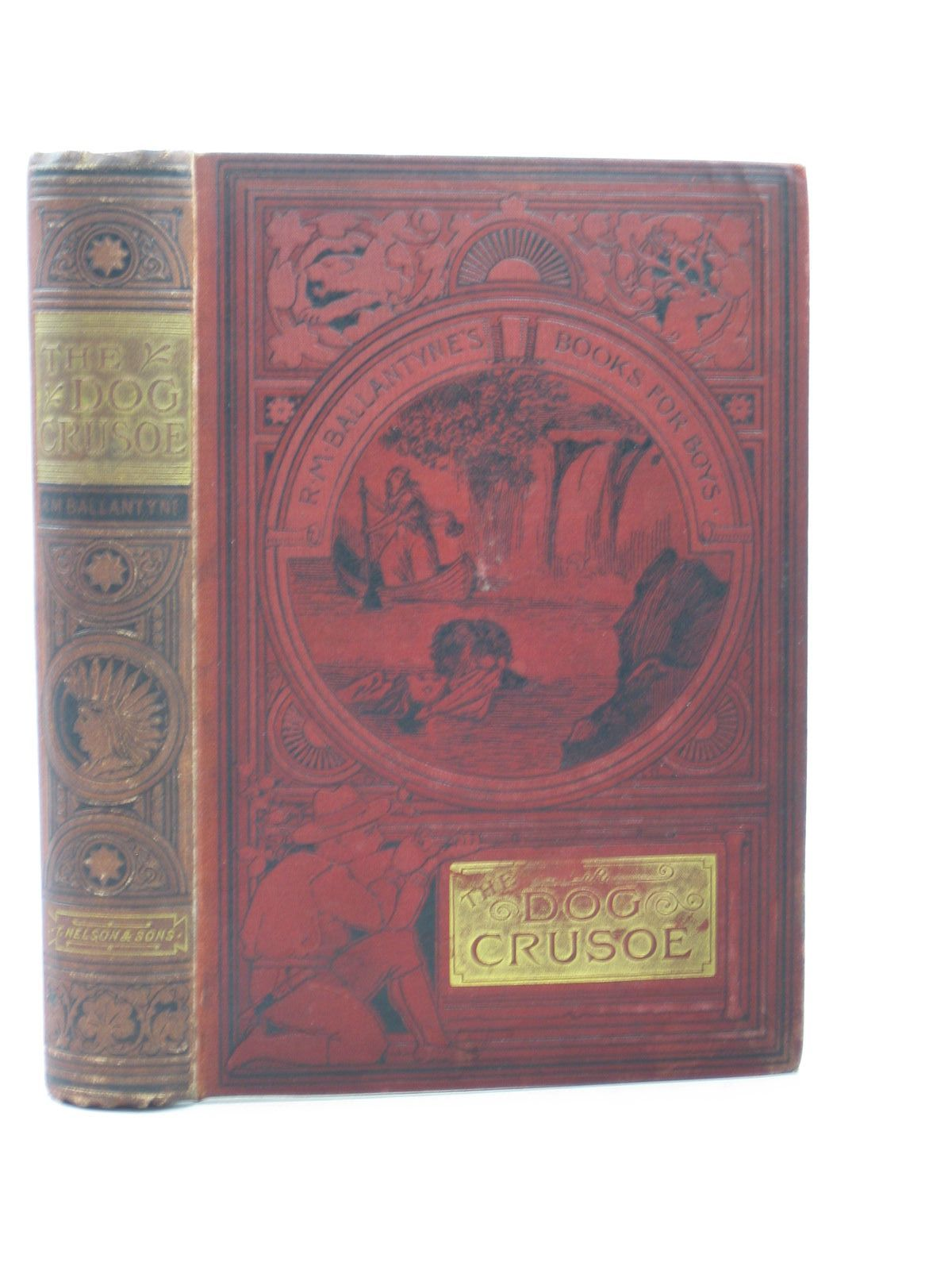 Photo of THE DOG CRUSOE AND HIS MASTER written by Ballantyne, R.M. published by T. Nelson & Sons (STOCK CODE: 1313322)  for sale by Stella & Rose's Books