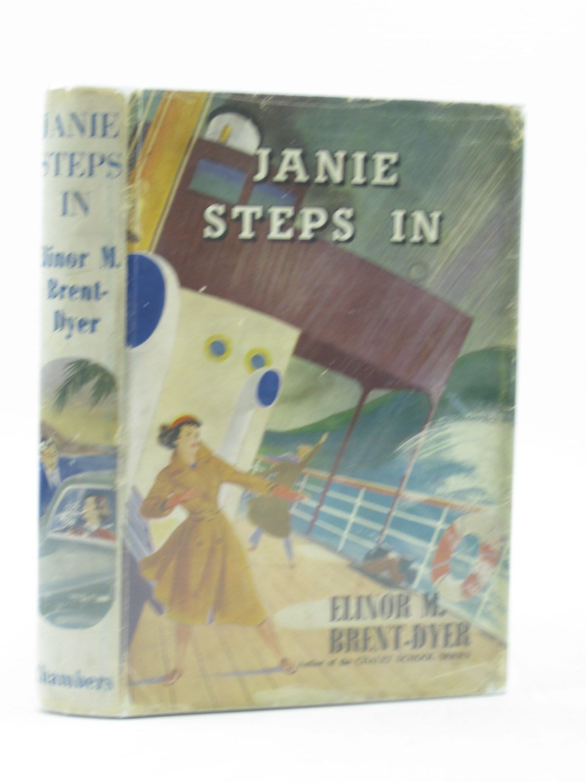 Photo of JANIE STEPS IN written by Brent-Dyer, Elinor M. published by W. & R. Chambers Limited (STOCK CODE: 1313516)  for sale by Stella & Rose's Books