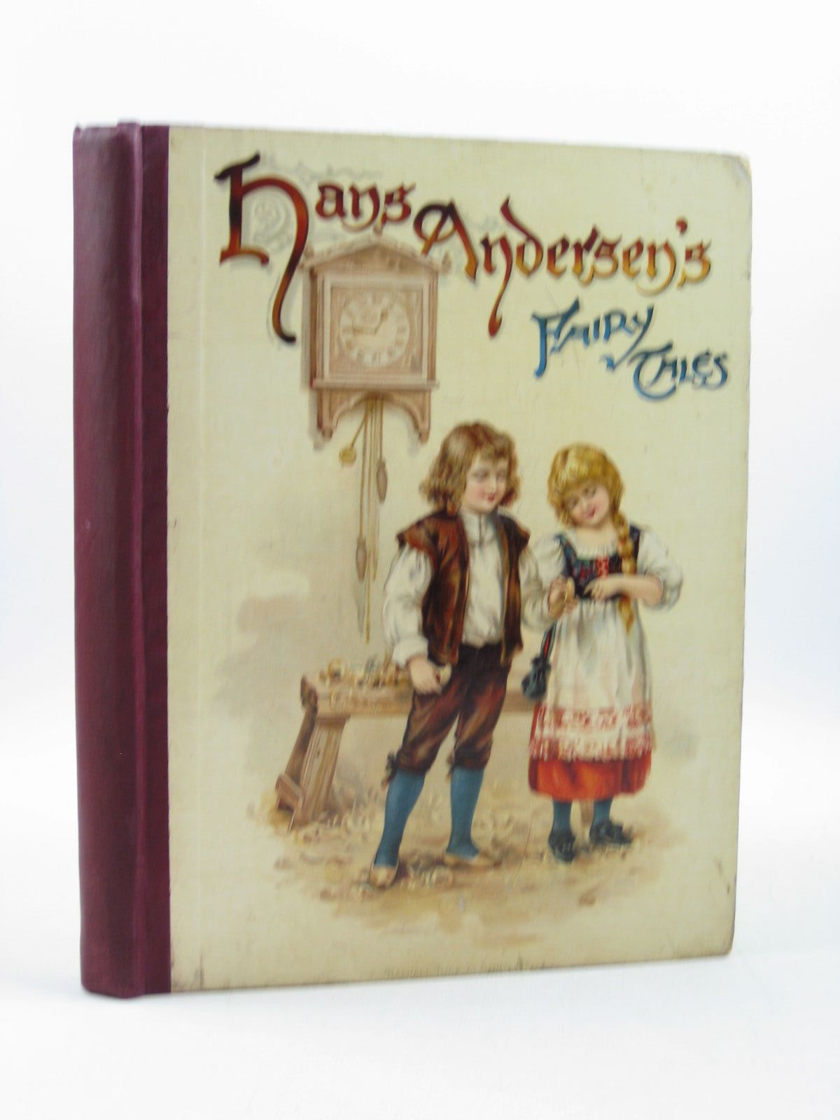 Photo of HANS ANDERSEN'S FAIRY TALES written by Andersen, Hans Christian illustrated by Andrews, E.J.<br />Jacobs, S. published by Raphael Tuck & Sons Ltd. (STOCK CODE: 1313590)  for sale by Stella & Rose's Books