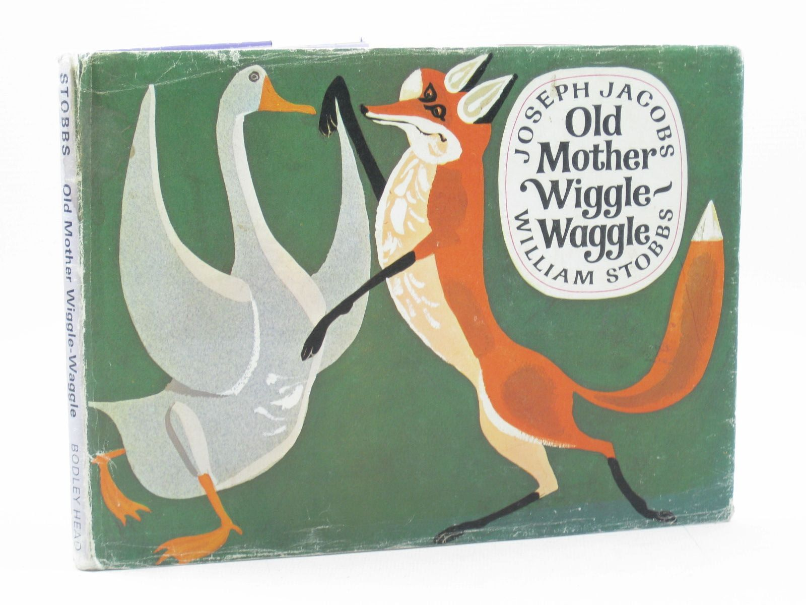 Photo of OLD MOTHER WIGGLE-WAGGLE written by Jacobs, Joseph illustrated by Stobbs, William published by The Bodley Head (STOCK CODE: 1313596)  for sale by Stella & Rose's Books