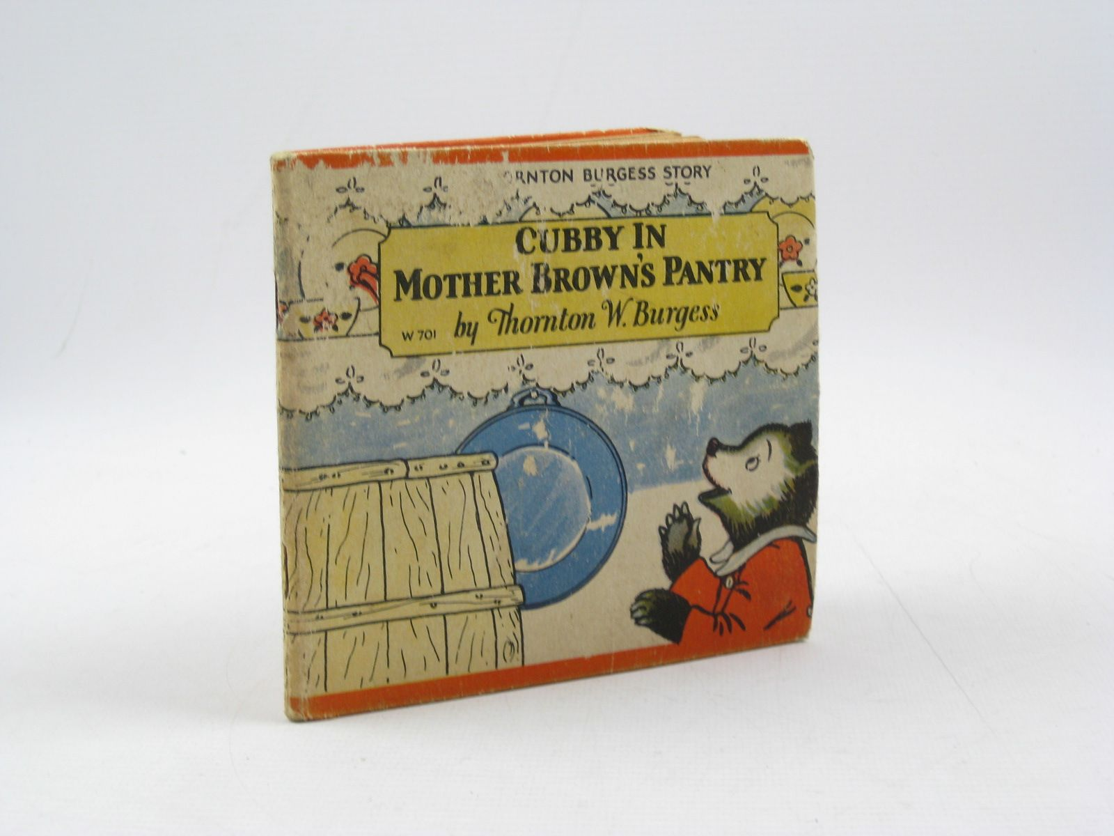 Photo of CUBBY IN MOTHER BROWN'S PANTRY written by Burgess, Thornton W. illustrated by Jordan, Nina R. published by Whitman Publishing Company (STOCK CODE: 1313798)  for sale by Stella & Rose's Books