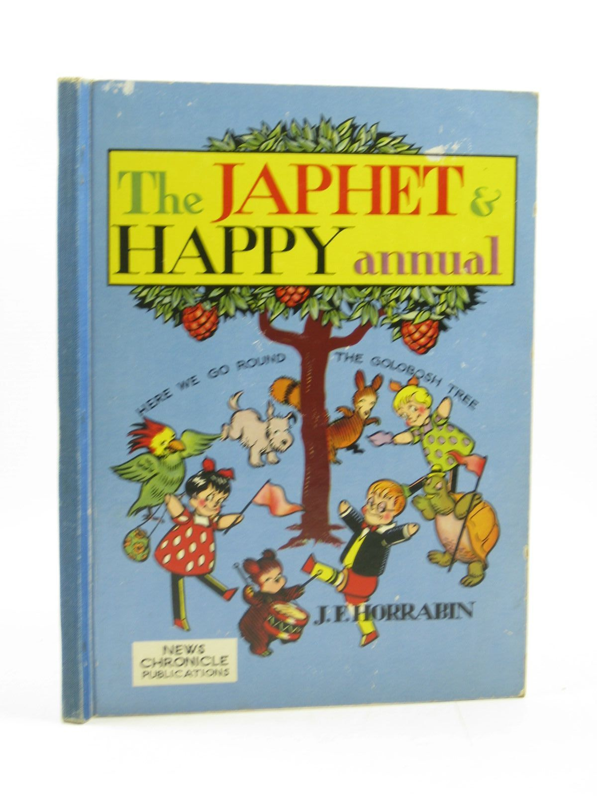 Photo of JAPHET AND HAPPY ANNUAL 1951 written by Horrabin, J.F.<br />Starr, Kathleen illustrated by Horrabin, J.F. published by News Chronicle Ltd. (STOCK CODE: 1313946)  for sale by Stella & Rose's Books