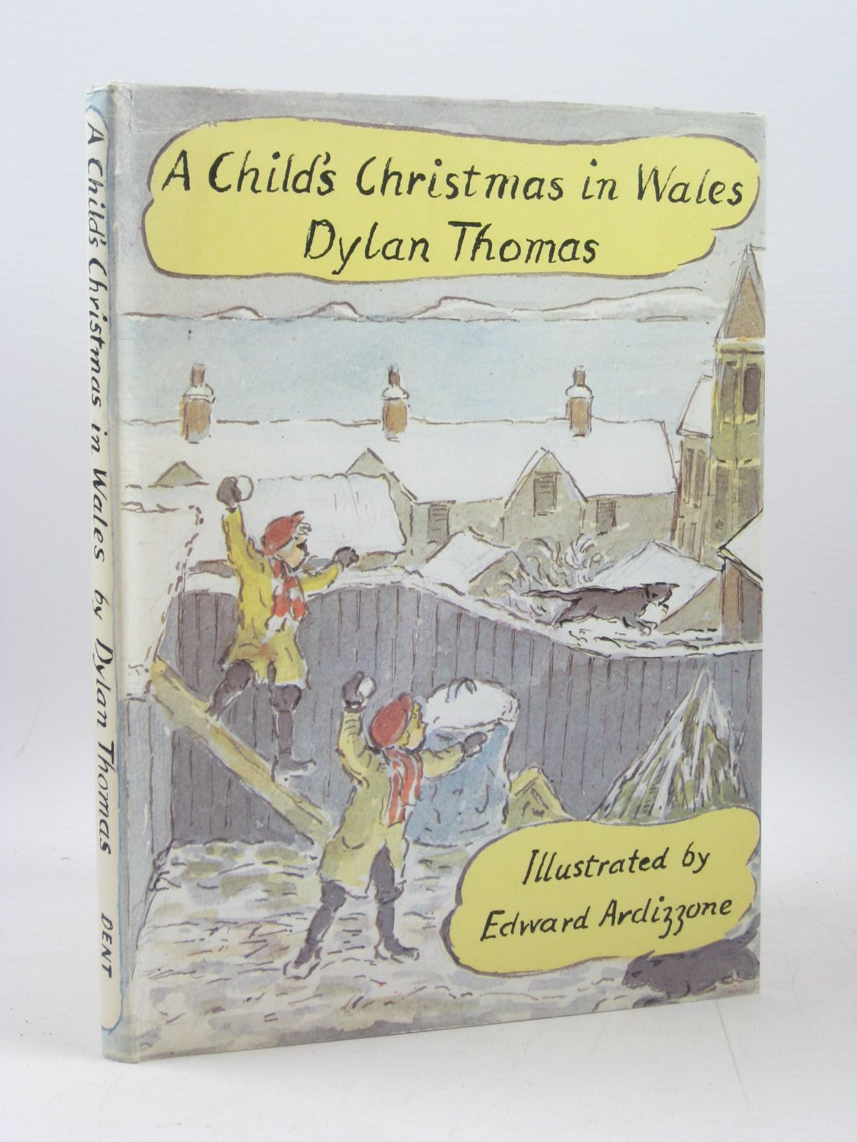 A Childs Christmas In Wales.A Child S Christmas In Wales Written By Thomas Dylan Stock