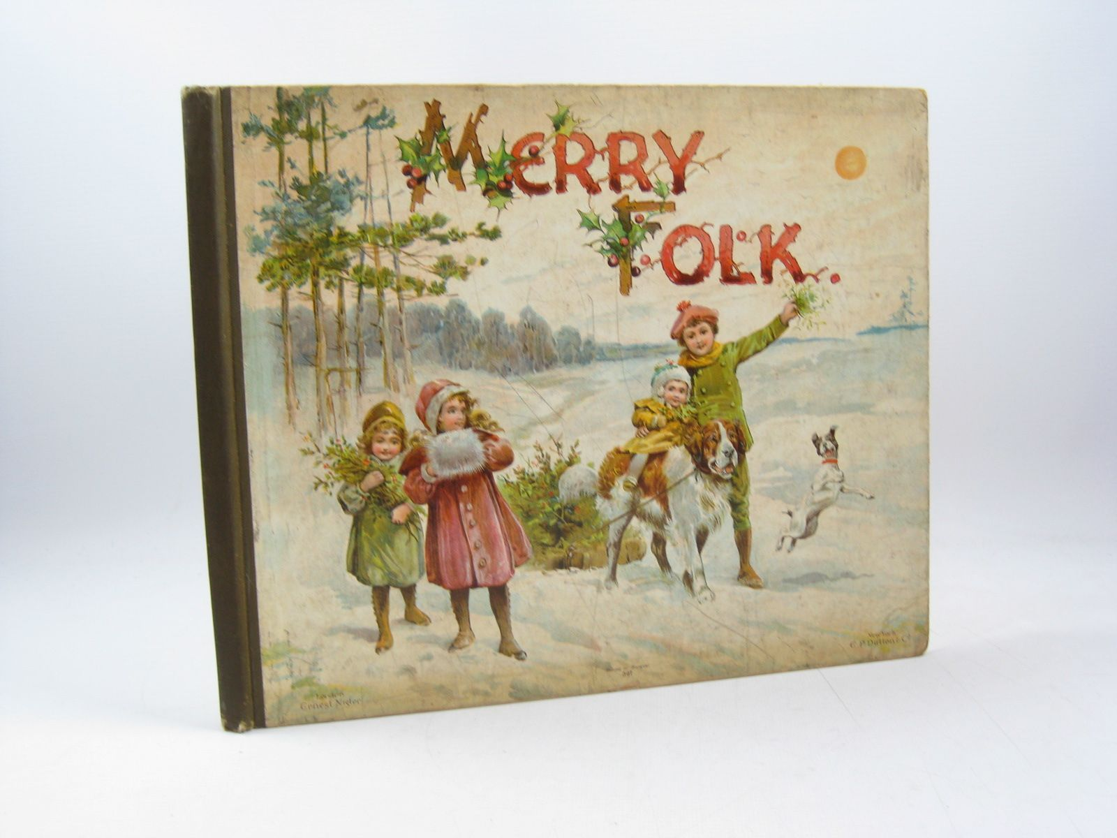 Photo of MERRY FOLK written by Manwell, M.B.<br />Robarts, Edith<br />Hoyer, M.A.<br />et al, illustrated by Hardy, E. Stuart published by Ernest Nister, E.P. Dutton & Co. (STOCK CODE: 1314093)  for sale by Stella & Rose's Books
