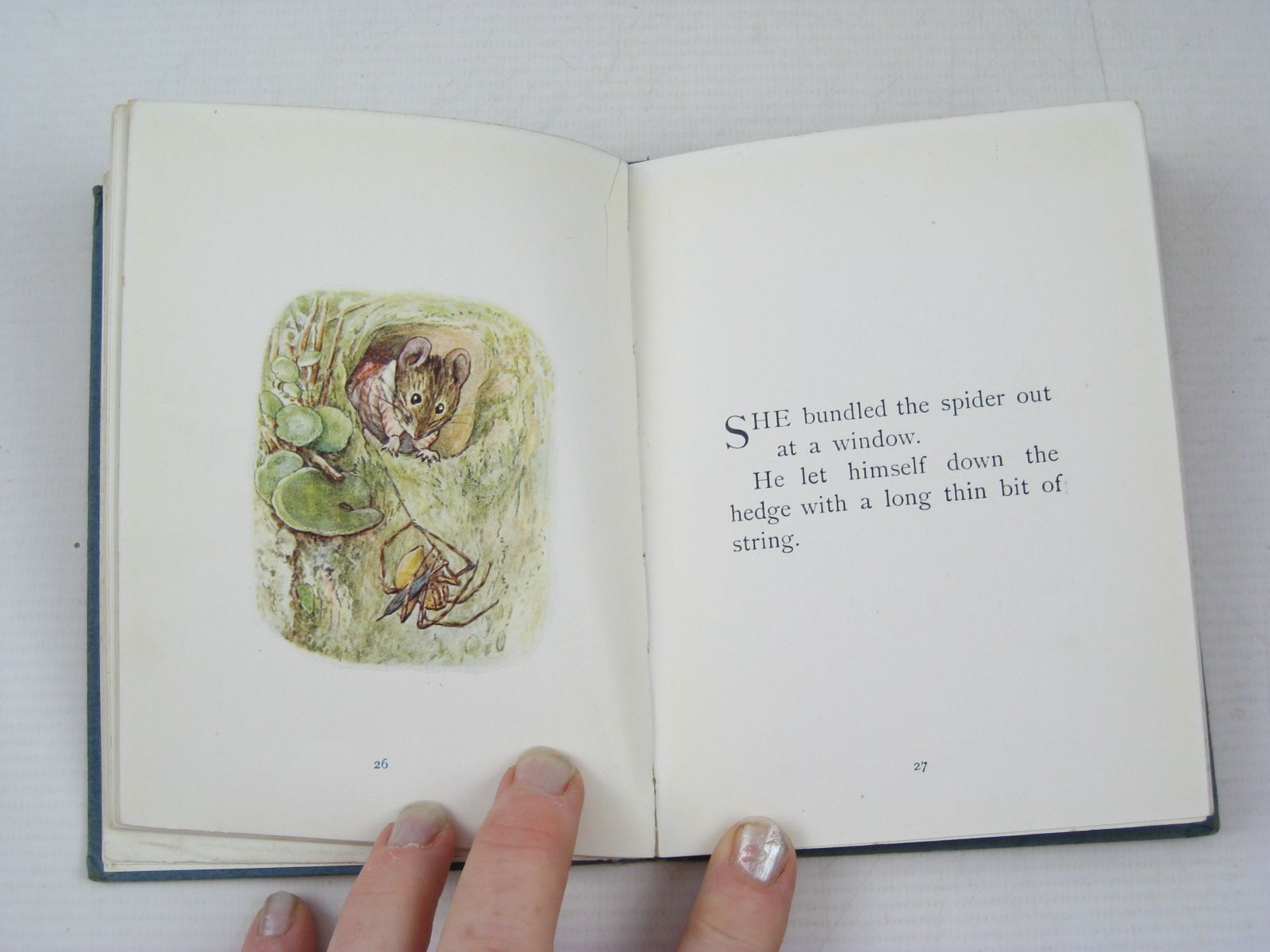 Photo of THE TALE OF MRS. TITTLEMOUSE written by Potter, Beatrix illustrated by Potter, Beatrix published by Frederick Warne & Co. (STOCK CODE: 1314191)  for sale by Stella & Rose's Books