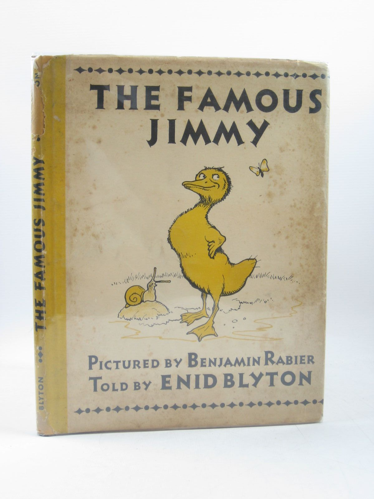 Photo of THE FAMOUS JIMMY written by Blyton, Enid illustrated by Rabier, Benjamin published by E.P. Dutton & Company Inc. (STOCK CODE: 1314195)  for sale by Stella & Rose's Books