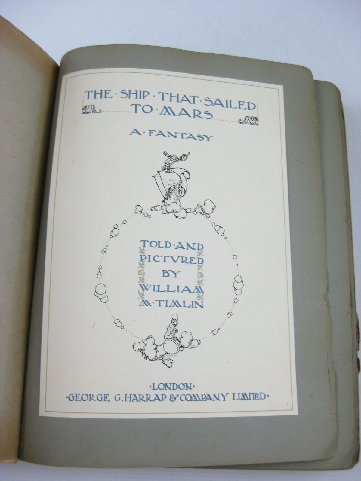 Photo of THE SHIP THAT SAILED TO MARS written by Timlin, William M. illustrated by Timlin, William M. published by George G. Harrap & Company Ltd. (STOCK CODE: 1314201)  for sale by Stella & Rose's Books