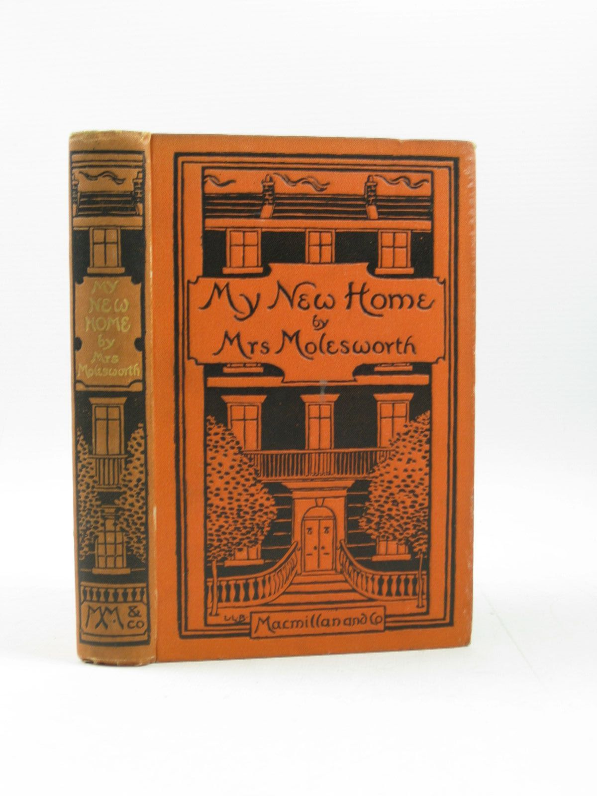 Photo of MY NEW HOME written by Molesworth, Mrs. illustrated by Brooke, L. Leslie published by Macmillan & Co. (STOCK CODE: 1314206)  for sale by Stella & Rose's Books
