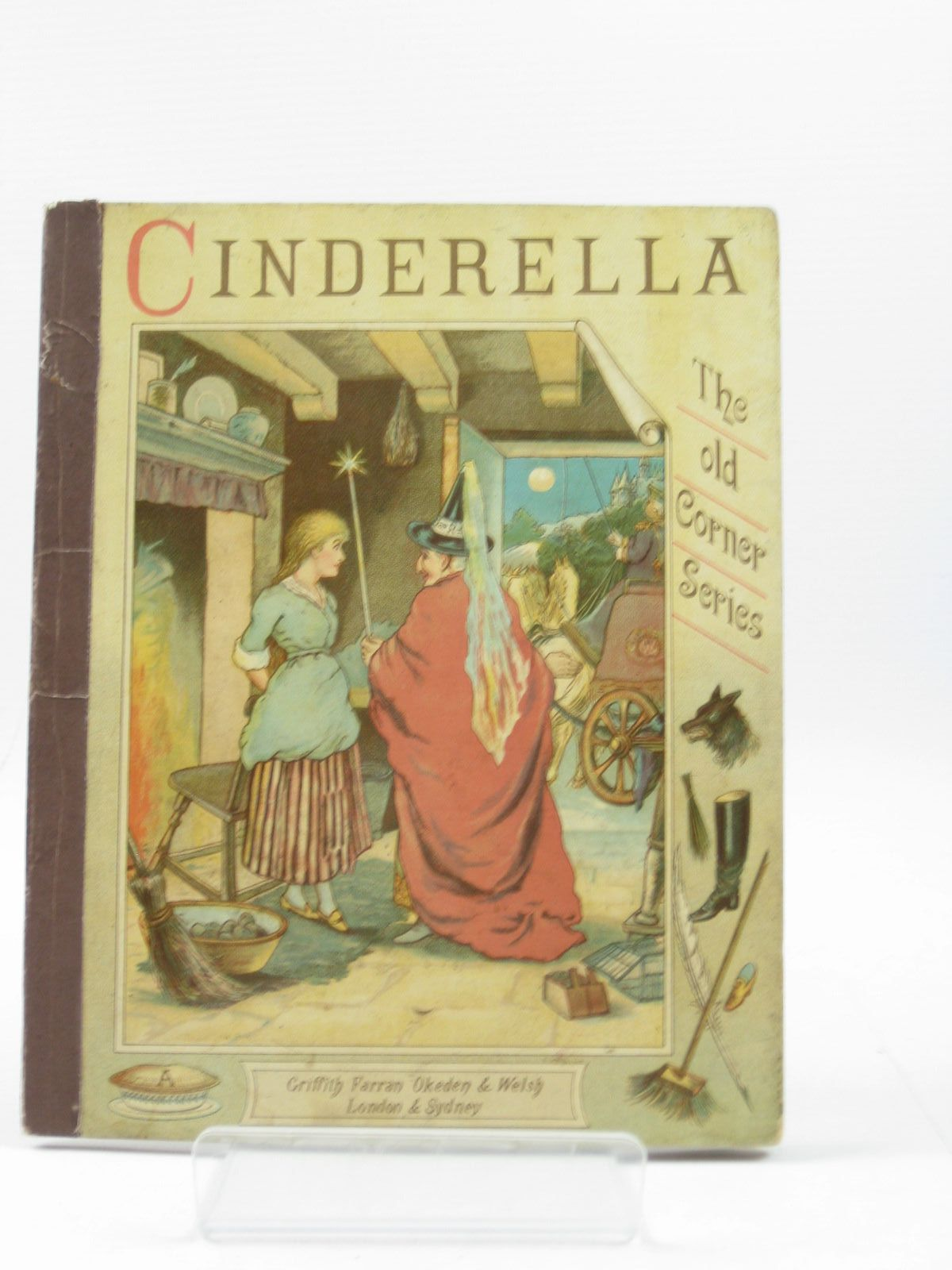 Photo of THE SURPRISING ADVENTURES OF CINDERELLA illustrated by Gibbons, Will published by Griffith Farran Okeden & Welsh (STOCK CODE: 1314211)  for sale by Stella & Rose's Books