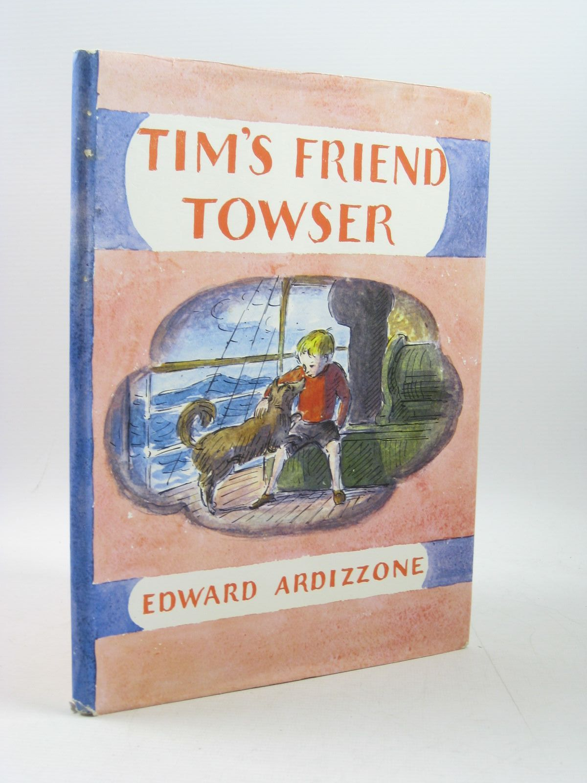 Photo of TIM'S FRIEND TOWSER written by Ardizzone, Edward illustrated by Ardizzone, Edward published by Oxford University Press (STOCK CODE: 1314218)  for sale by Stella & Rose's Books
