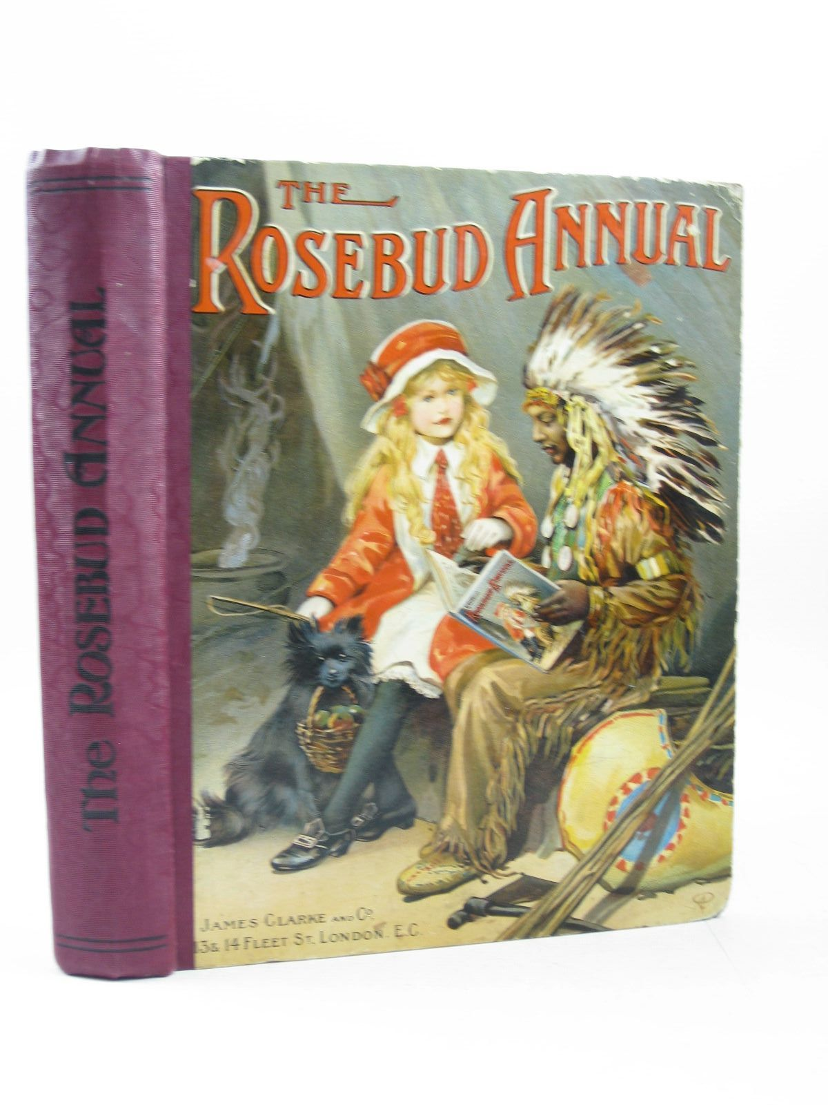 Photo of THE ROSEBUD ANNUAL 1915 written by Blomfield, Elsie<br />Cash, Agness E.<br />et al, illustrated by Wain, Louis<br />Welsh, Lilian<br />et al., published by James Clarke & Co. (STOCK CODE: 1314219)  for sale by Stella & Rose's Books