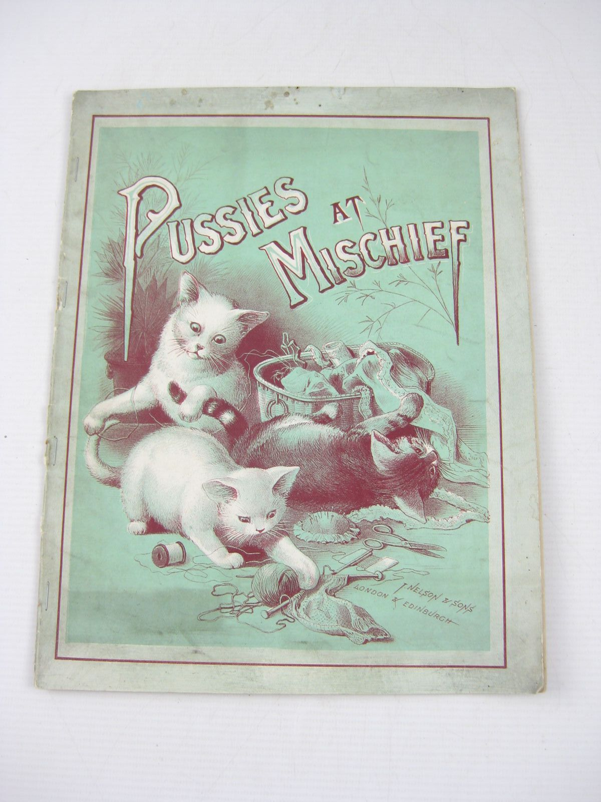 Photo of PUSSIES AT MISCHIEF published by T. Nelson & Sons (STOCK CODE: 1314228)  for sale by Stella & Rose's Books