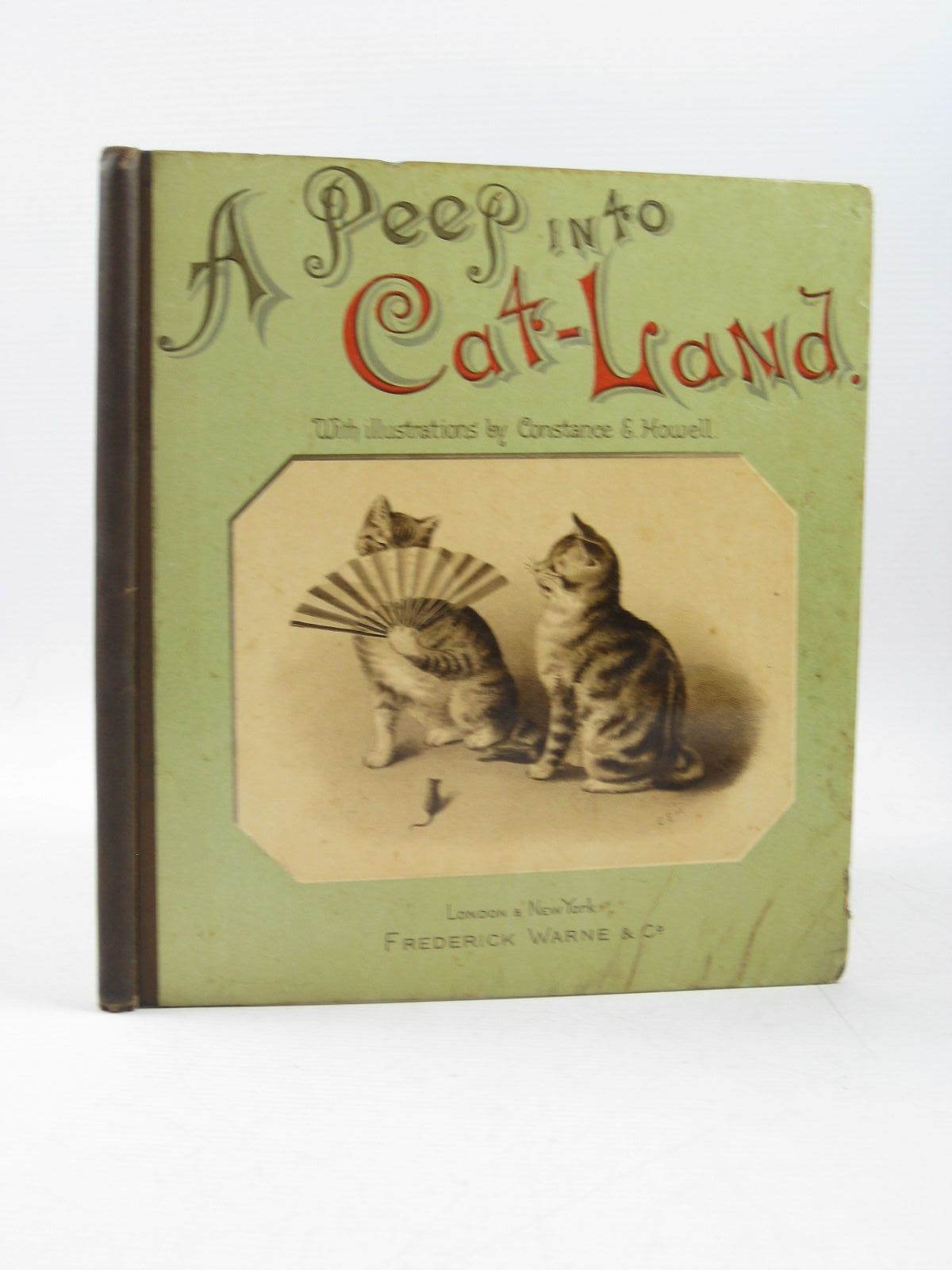Photo of A PEEP INTO CAT-LAND written by Dawson, Aimee De V.<br />et al, illustrated by Howell, Constance E. published by Frederick Warne & Co. (STOCK CODE: 1314249)  for sale by Stella & Rose's Books