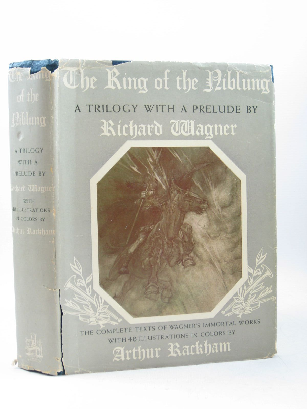 Photo of THE RING OF THE NIBLUNG written by Wagner, Richard illustrated by Rackham, Arthur published by Garden City Publishing Company, Inc. (STOCK CODE: 1314302)  for sale by Stella & Rose's Books
