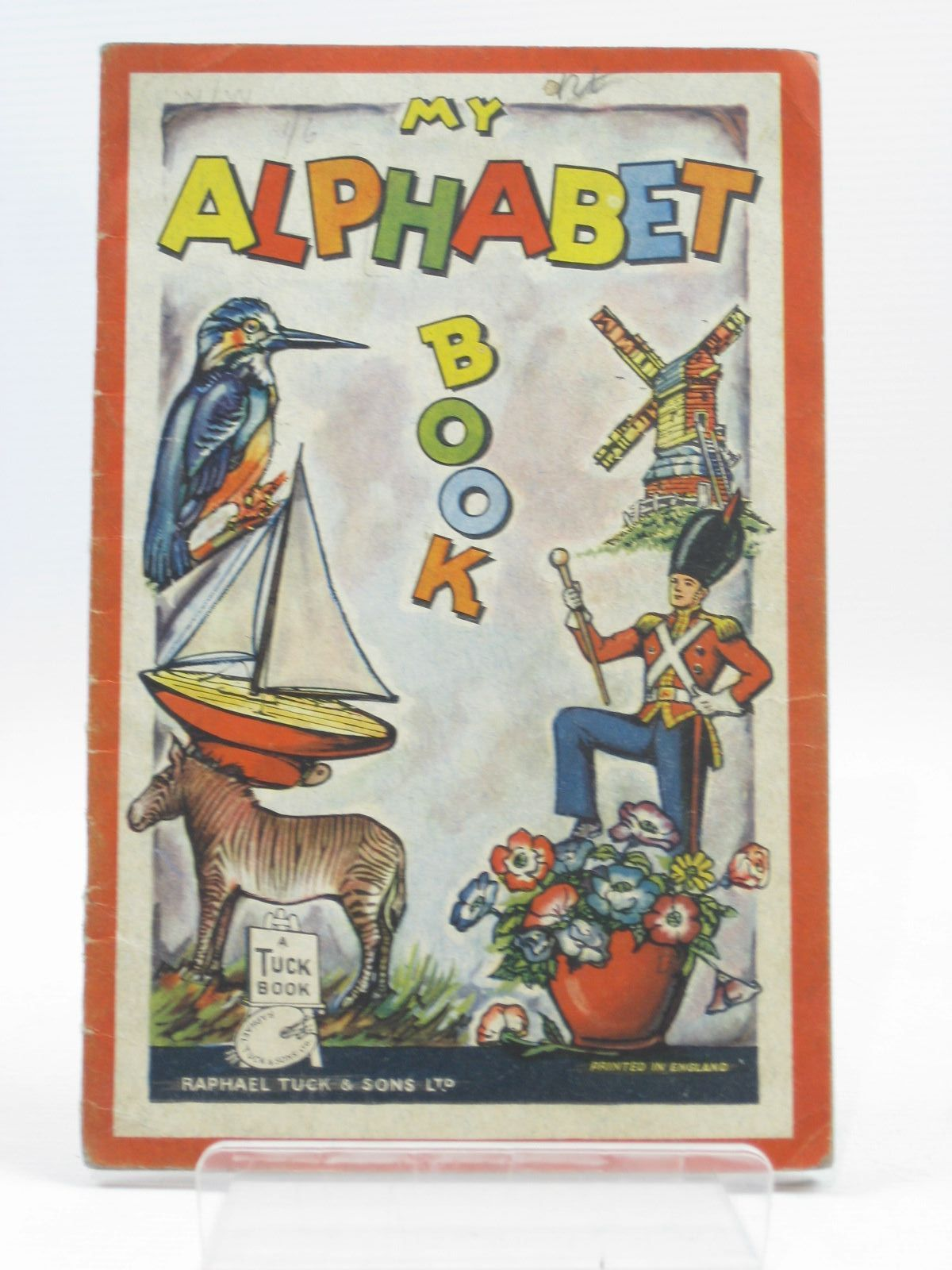 Photo of MY ALPHABET BOOK published by Raphael Tuck & Sons Ltd. (STOCK CODE: 1314421)  for sale by Stella & Rose's Books