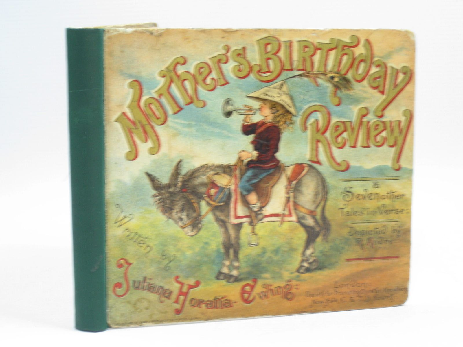 Photo of MOTHER'S BIRTHDAY REVIEW AND SEVEN OTHER TALES IN VERSE written by Ewing, Juliana Horatia illustrated by Andre, R. published by Society for Promoting Christian Knowledge (STOCK CODE: 1314425)  for sale by Stella & Rose's Books