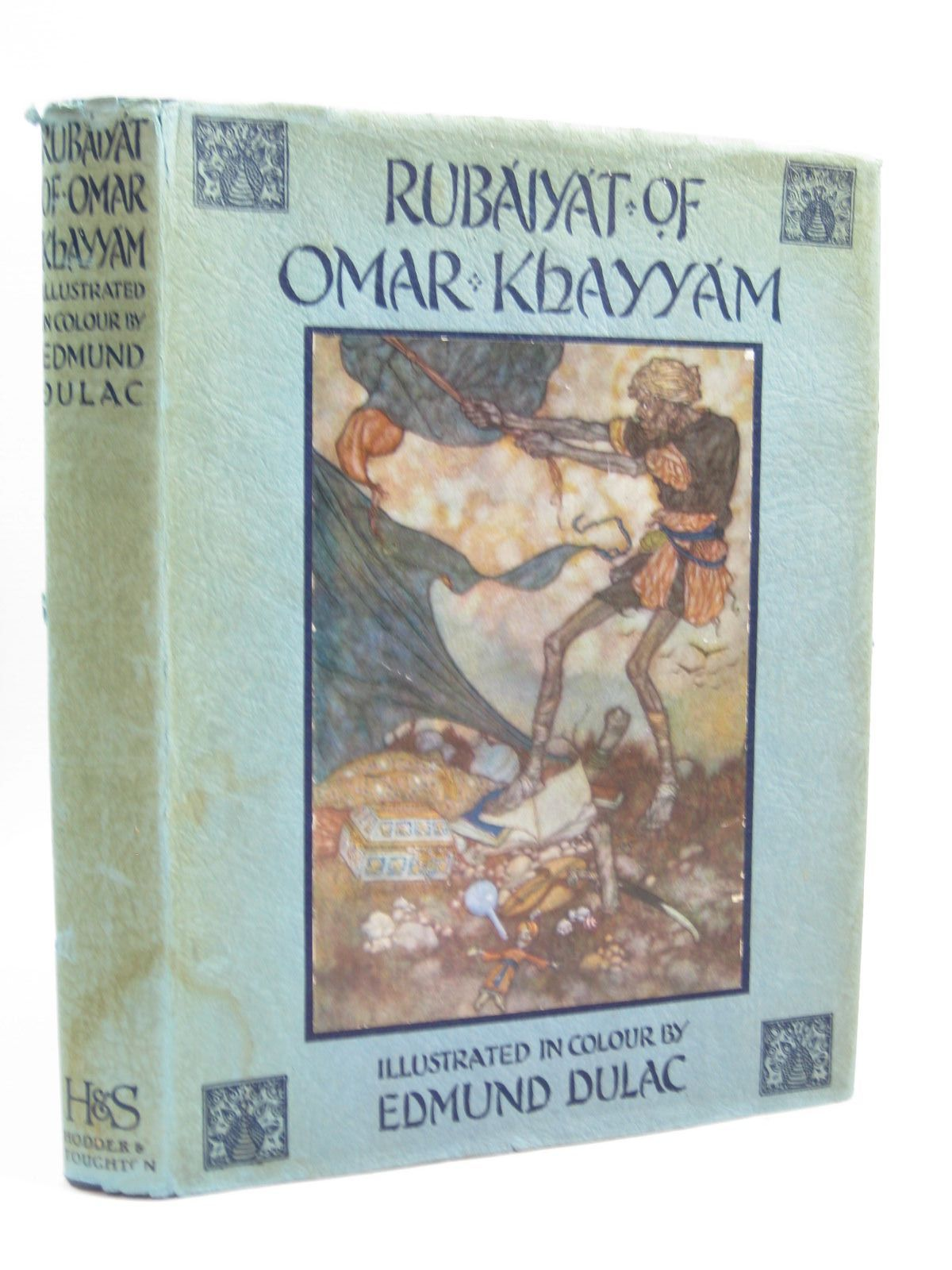 Photo of RUBAIYAT OF OMAR KHAYYAM written by Fitzgerald, Edward illustrated by Dulac, Edmund published by Hodder & Stoughton (STOCK CODE: 1314446)  for sale by Stella & Rose's Books