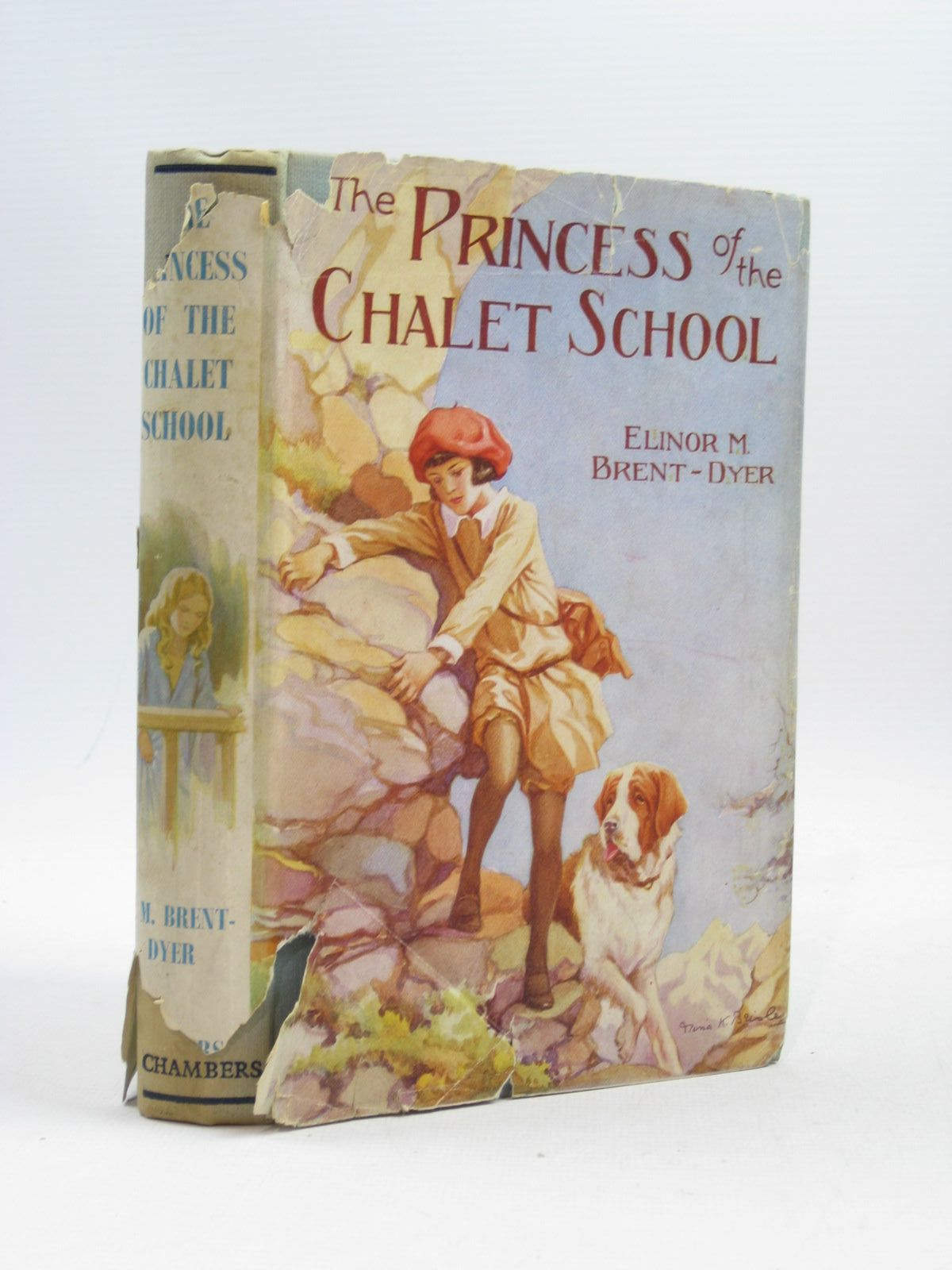Photo of THE PRINCESS OF THE CHALET SCHOOL written by Brent-Dyer, Elinor M. published by W. & R. Chambers Limited (STOCK CODE: 1314501)  for sale by Stella & Rose's Books