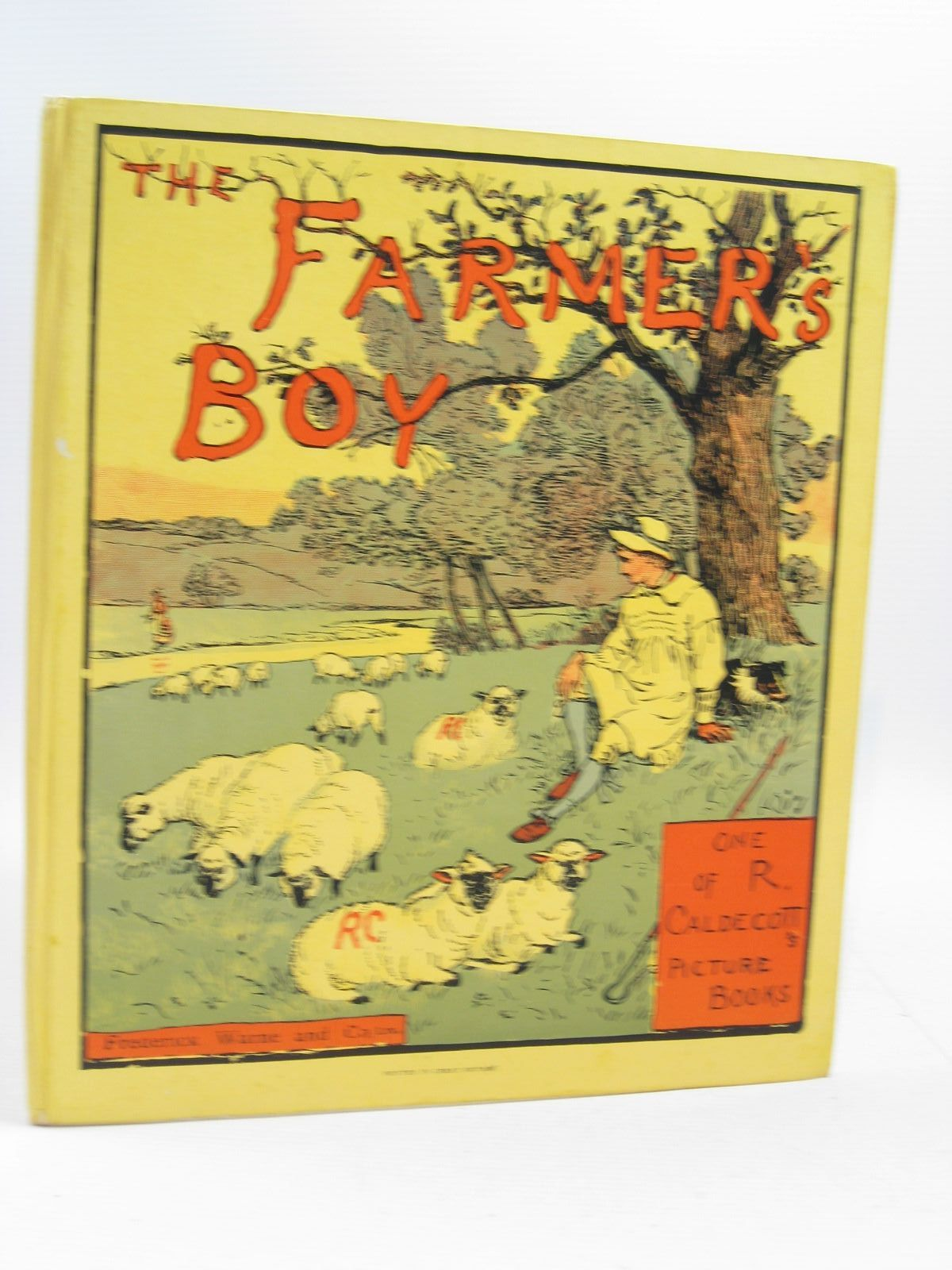 Photo of THE FARMER'S BOY illustrated by Caldecott, Randolph published by Frederick Warne & Co Ltd. (STOCK CODE: 1314510)  for sale by Stella & Rose's Books