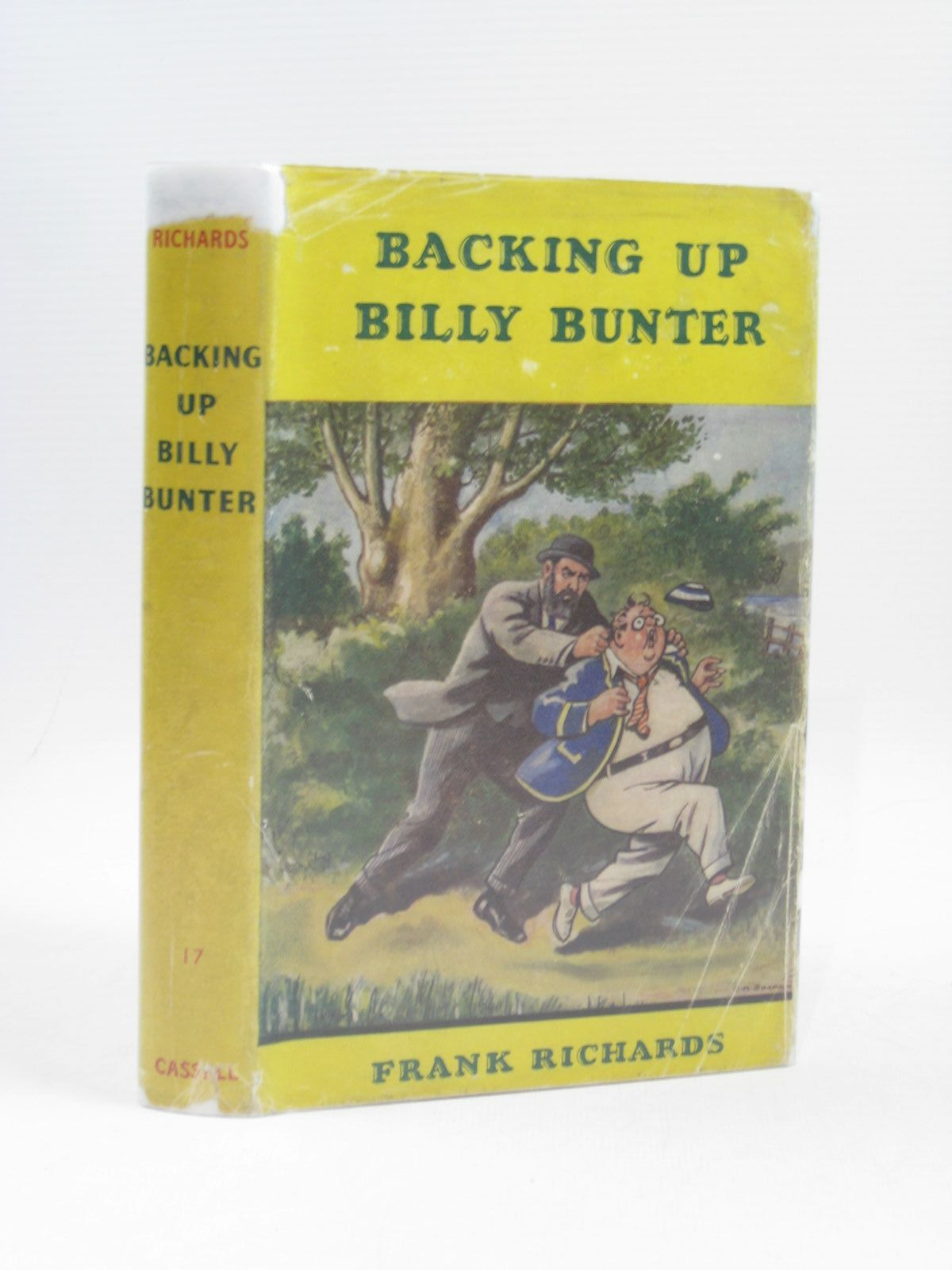 Photo of BACKING UP BILLY BUNTER