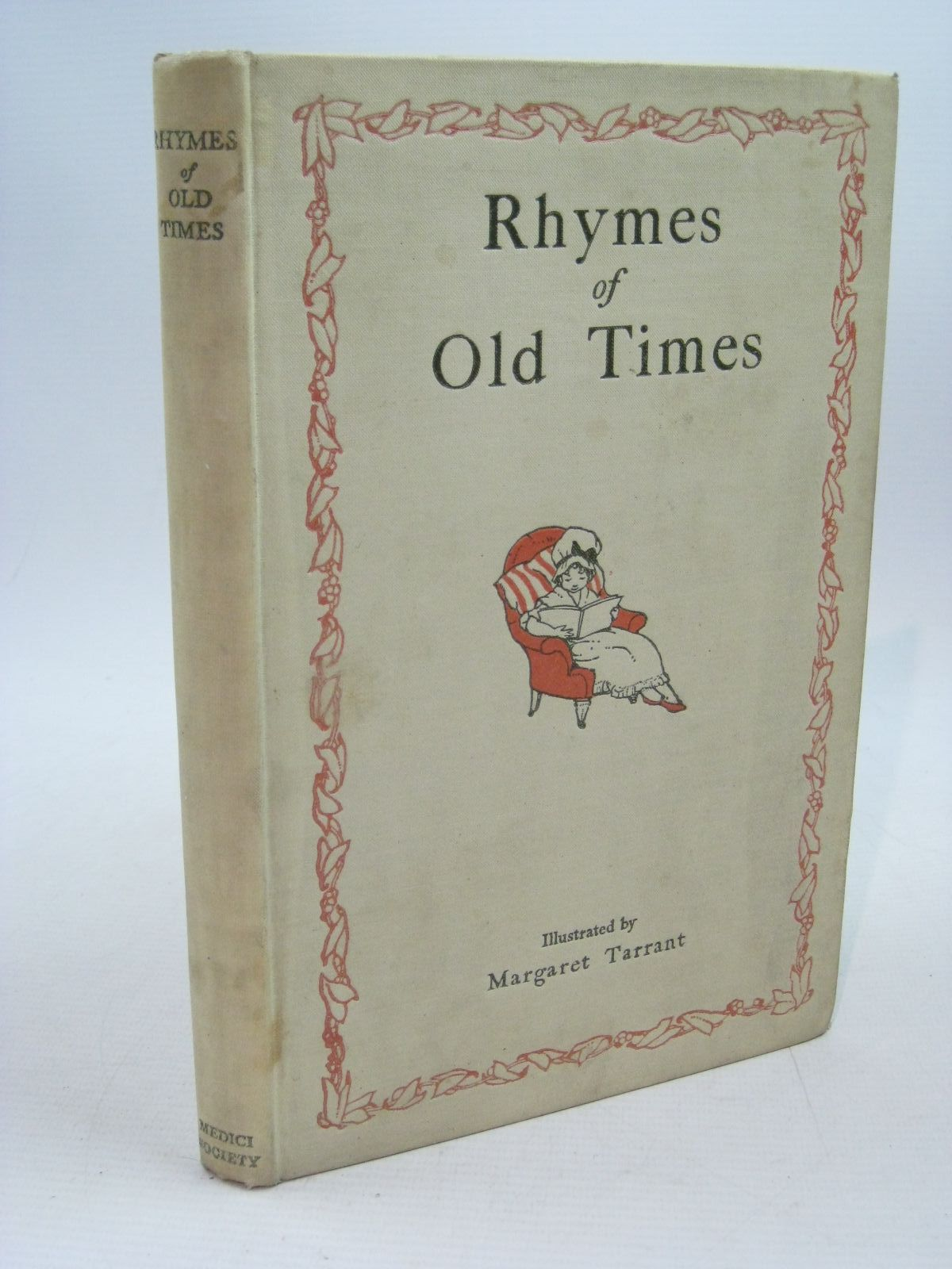 Photo of RHYMES OF OLD TIMES illustrated by Tarrant, Margaret published by The Medici Society (STOCK CODE: 1314642)  for sale by Stella & Rose's Books