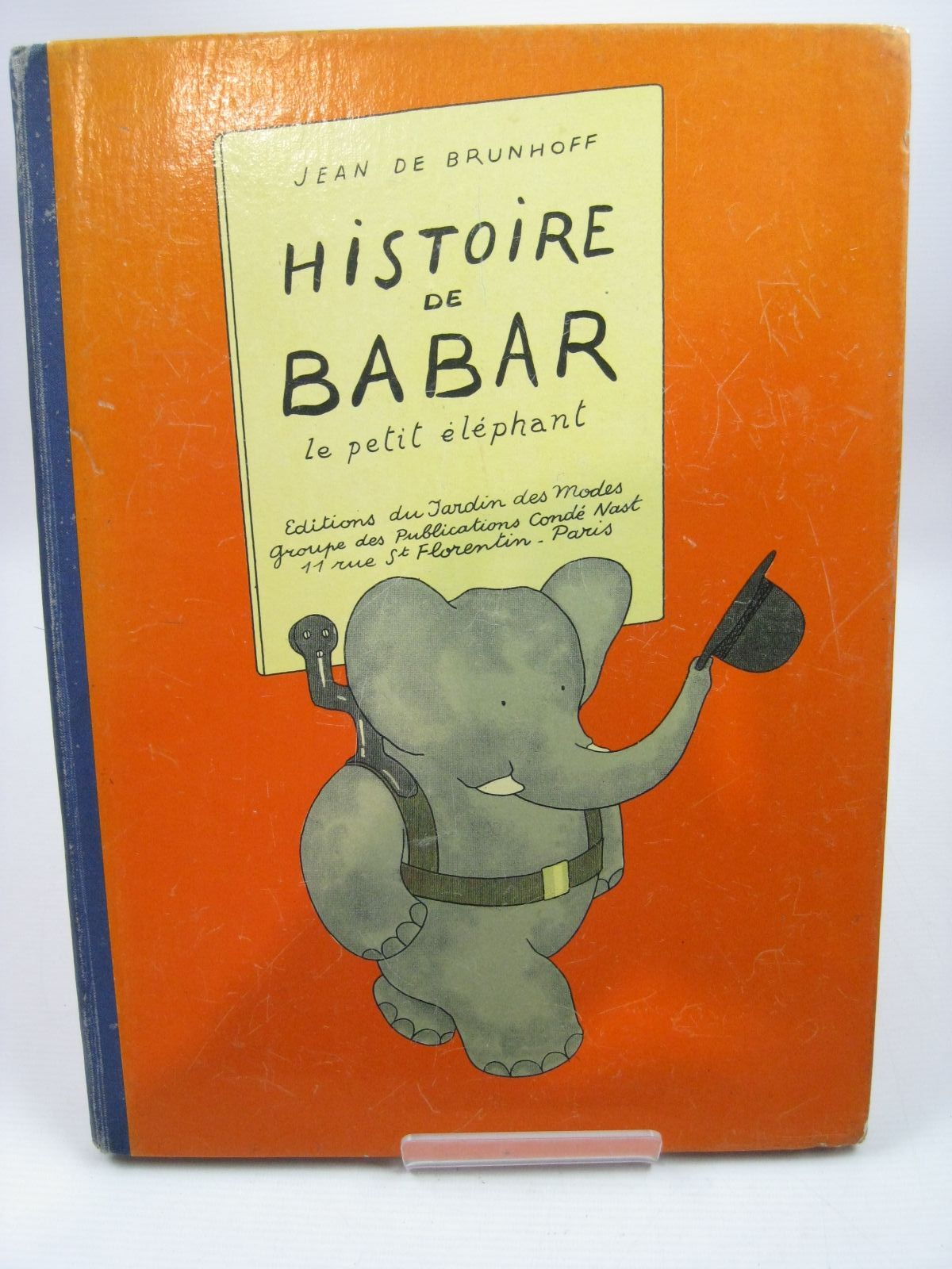Photo of HISTOIRE DE BABAR LE PETIT ELEPHANT written by De Brunhoff, Jean illustrated by De Brunhoff, Jean published by Editions Du Jardin Des Modes (STOCK CODE: 1314648)  for sale by Stella & Rose's Books