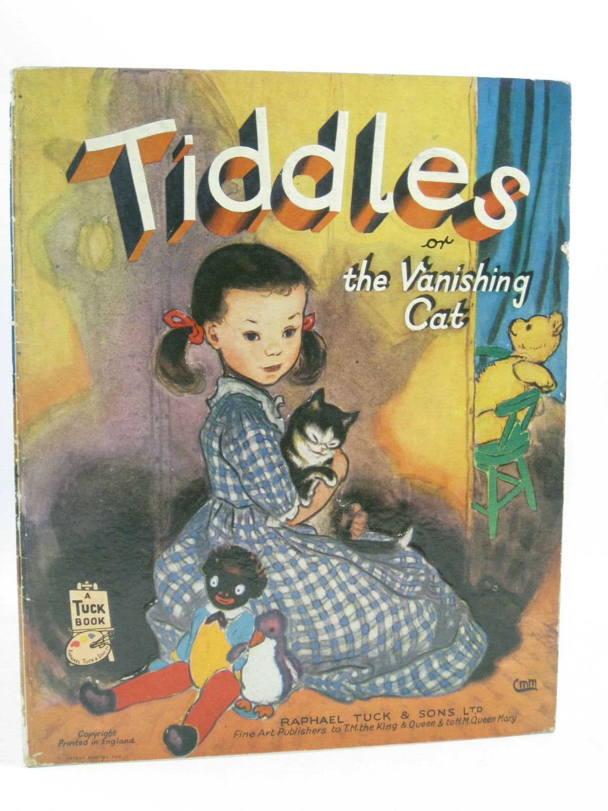 Photo of TIDDLES OR THE VANISHING CAT written by Noel, Diana illustrated by Milnes, Margaret published by Raphael Tuck & Sons Ltd. (STOCK CODE: 1314654)  for sale by Stella & Rose's Books