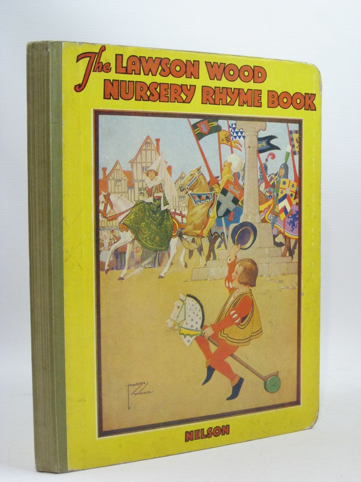 Photo of THE LAWSON WOOD NURSERY RHYME BOOK illustrated by Wood, Lawson published by Thomas Nelson and Sons Ltd. (STOCK CODE: 1314656)  for sale by Stella & Rose's Books